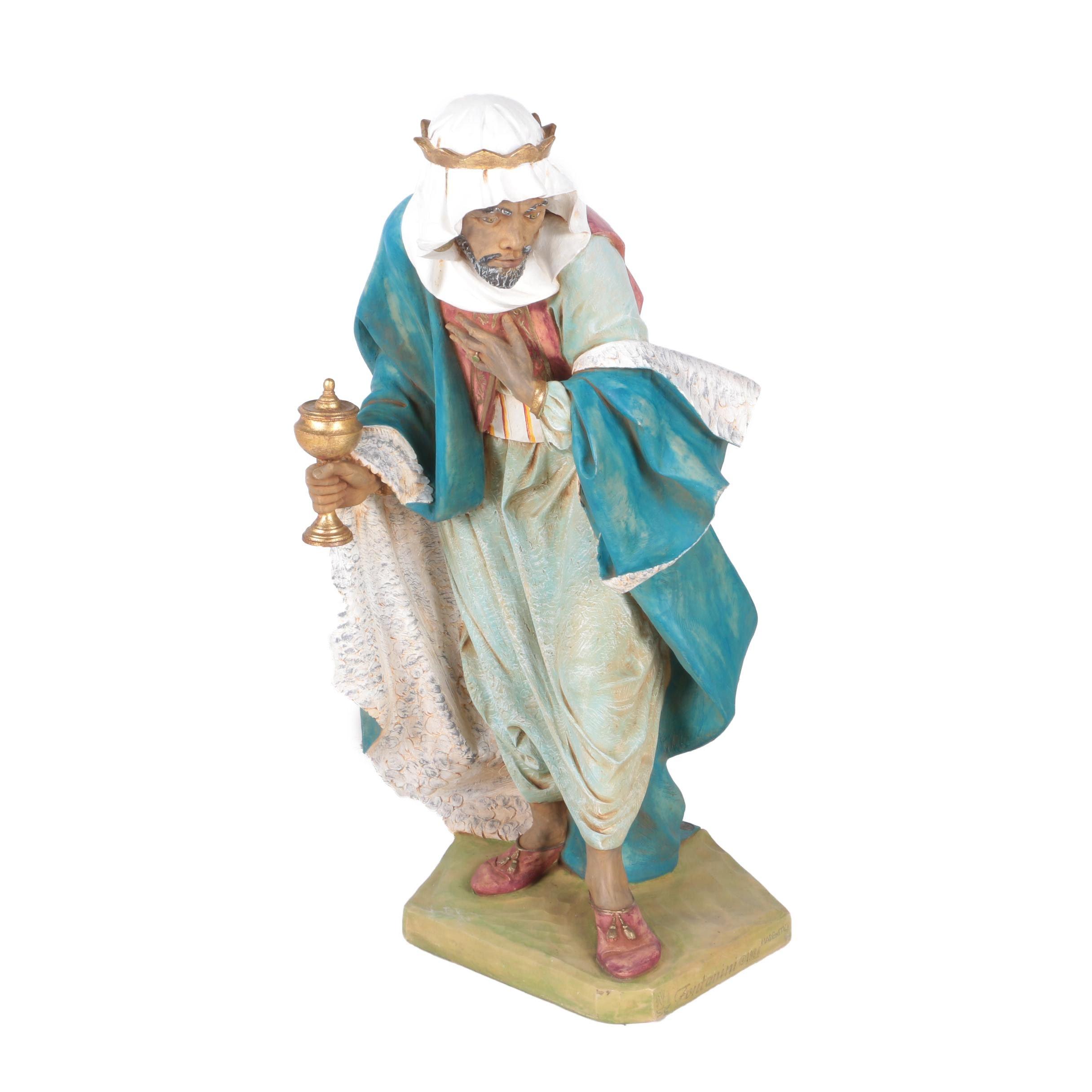 Fontanini Lawrence of Arabia Ceramic Figurine