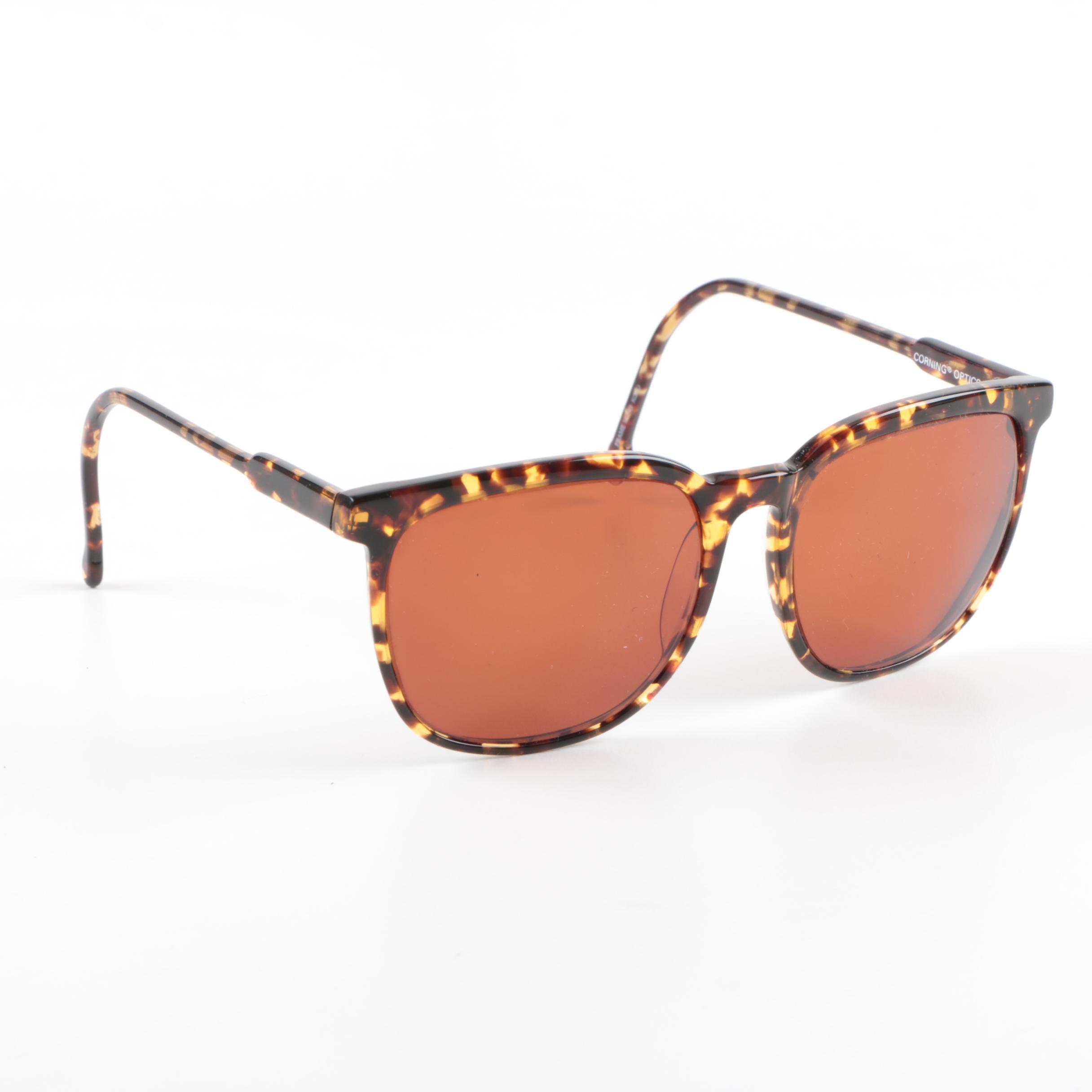 Serengeti Drivers Horn-Rimmed Sunglasses