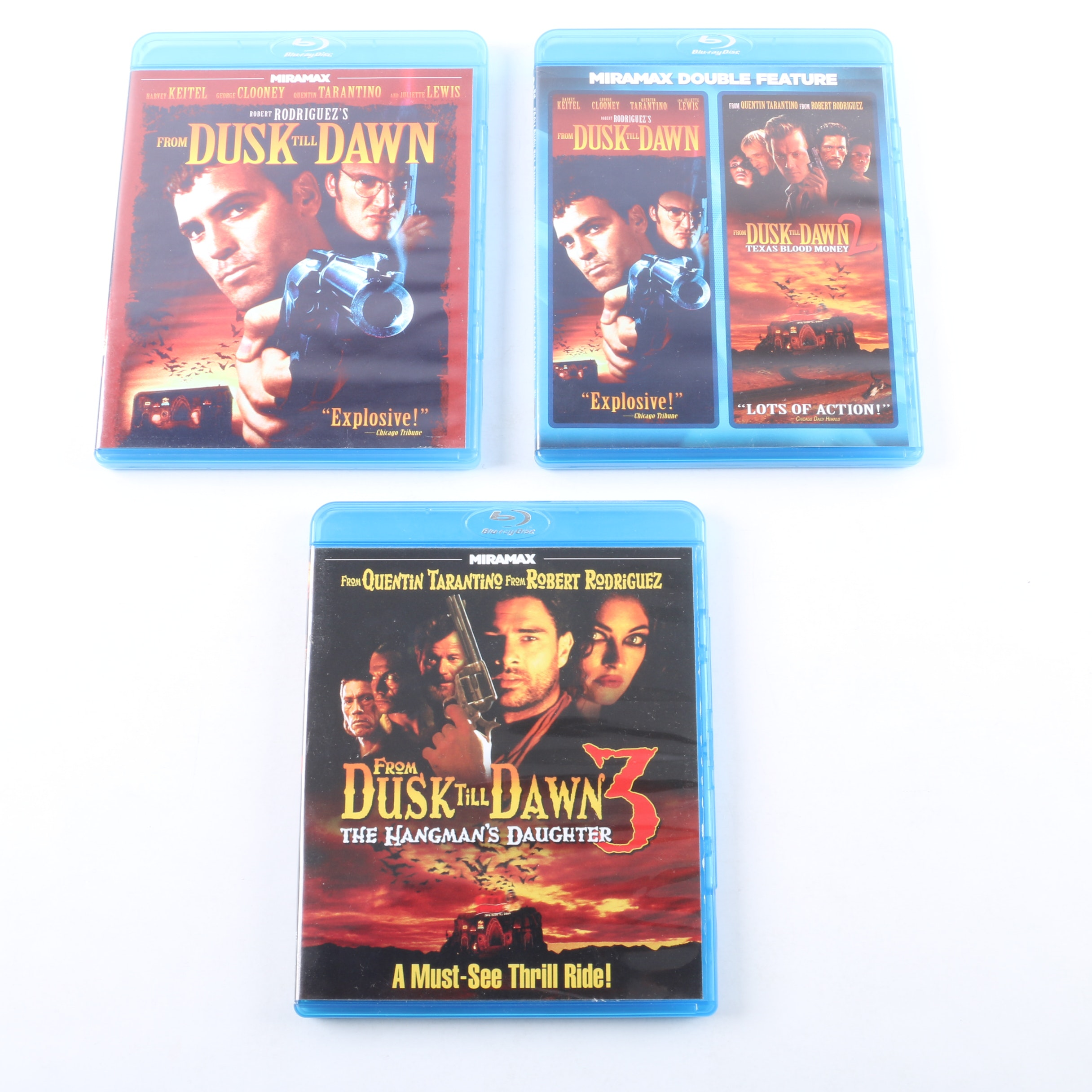 """From Dusk Till Dawn"" Film Series Blu-ray Collection"