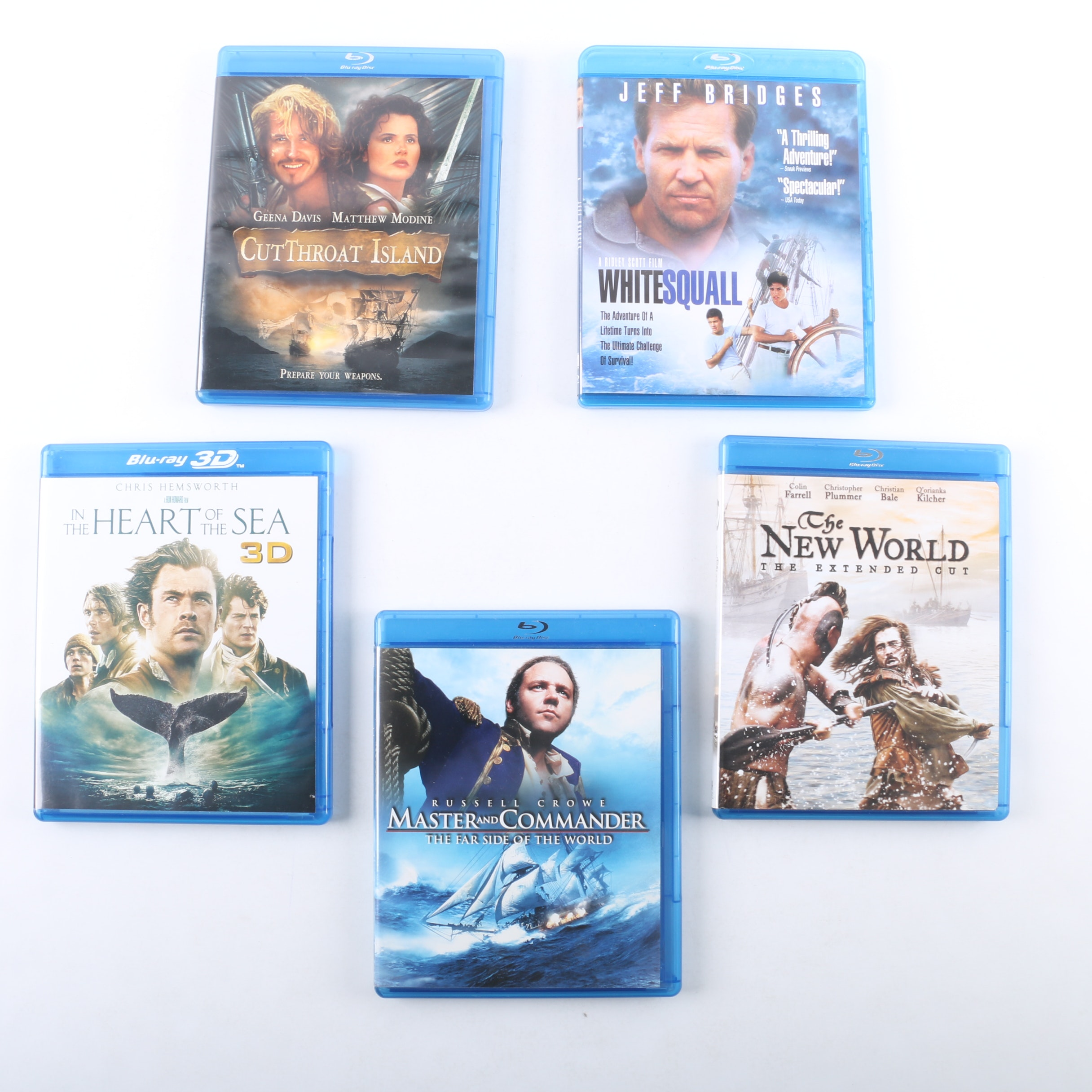 Nautical Action and Adventure Blu-ray Discs