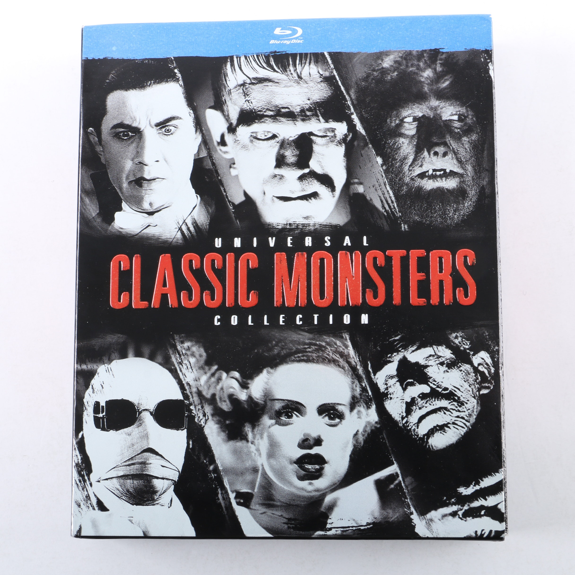 """""""Universal Classic Monsters Collection"""" Blu-ray Boxed Set"""