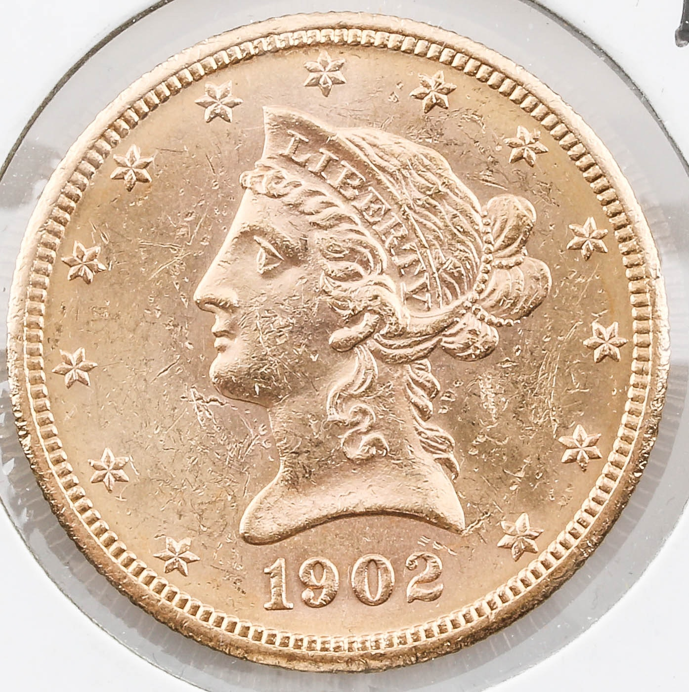 1902-S Liberty Head $10 Gold Coin