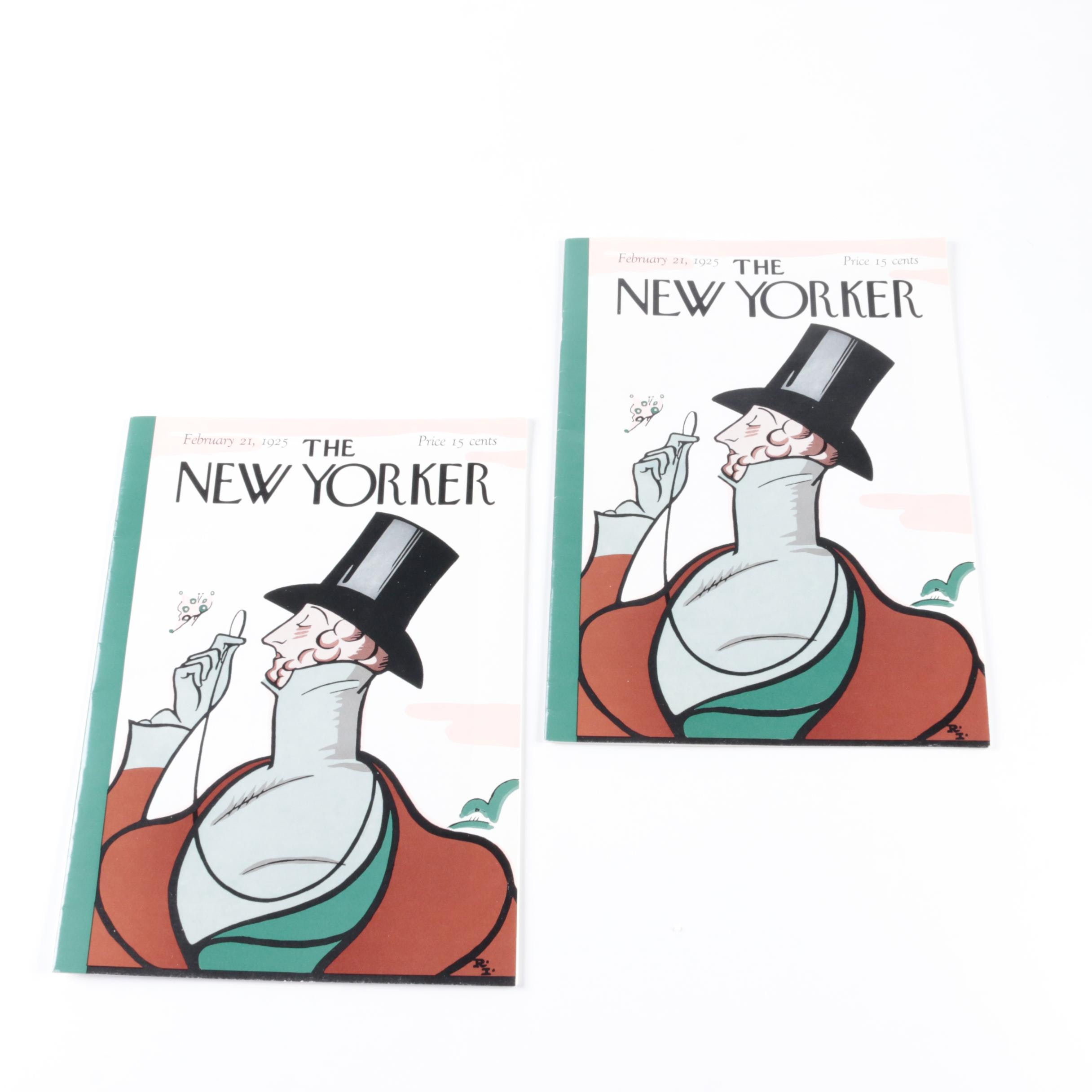 """1953 Reprinted First Issue of """"The New Yorker"""""""