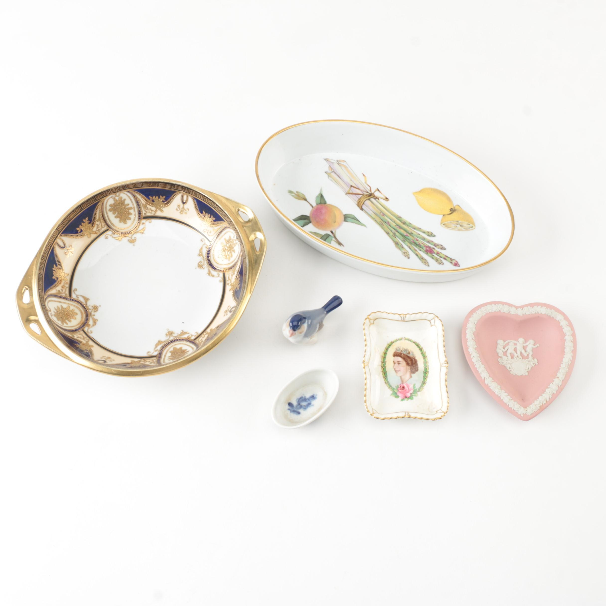 Porcelain and China Featuring Noritake, Wedgwood and Royal Copenhagen