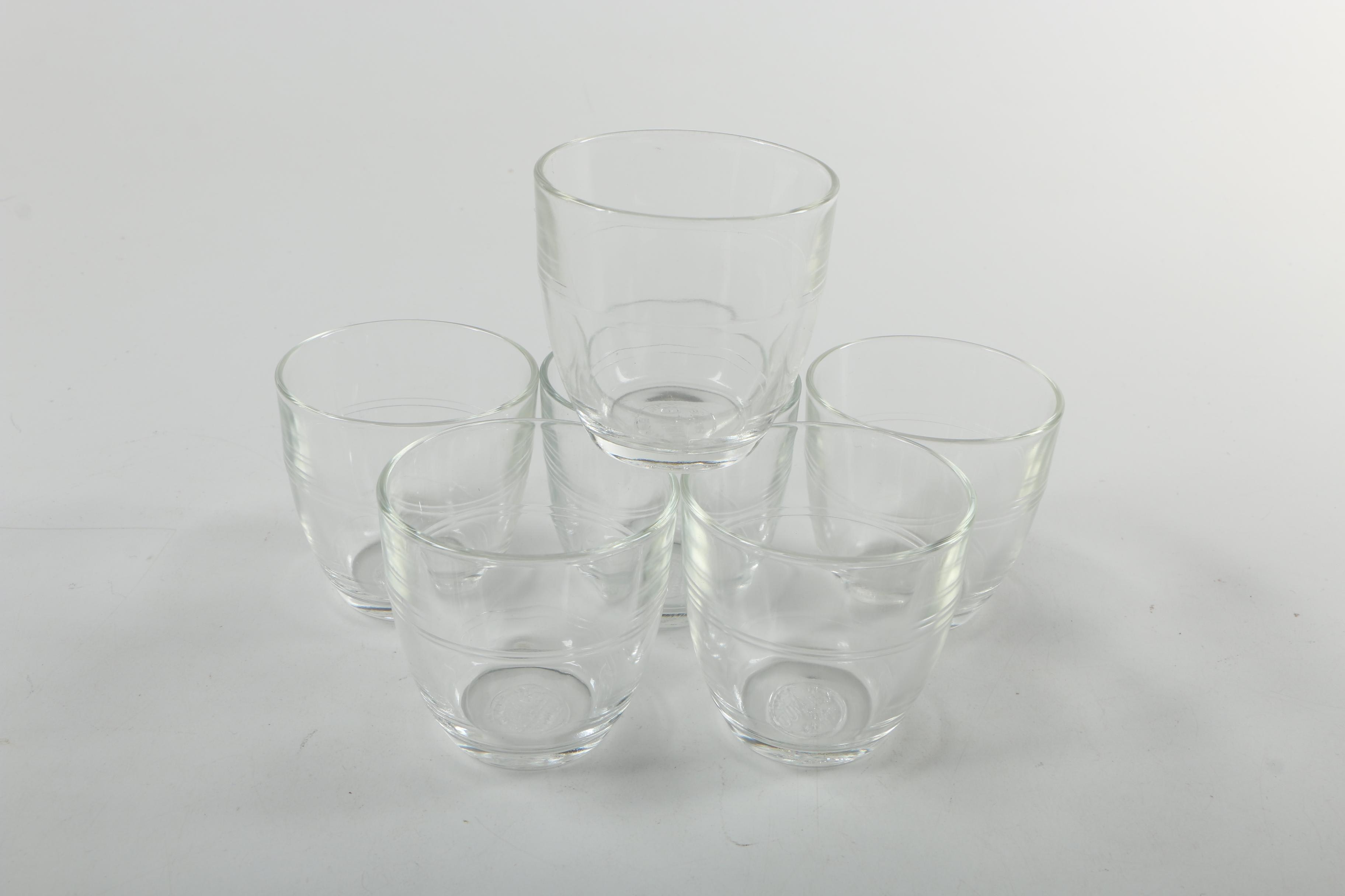 Duralex Clear Glass Tumblers