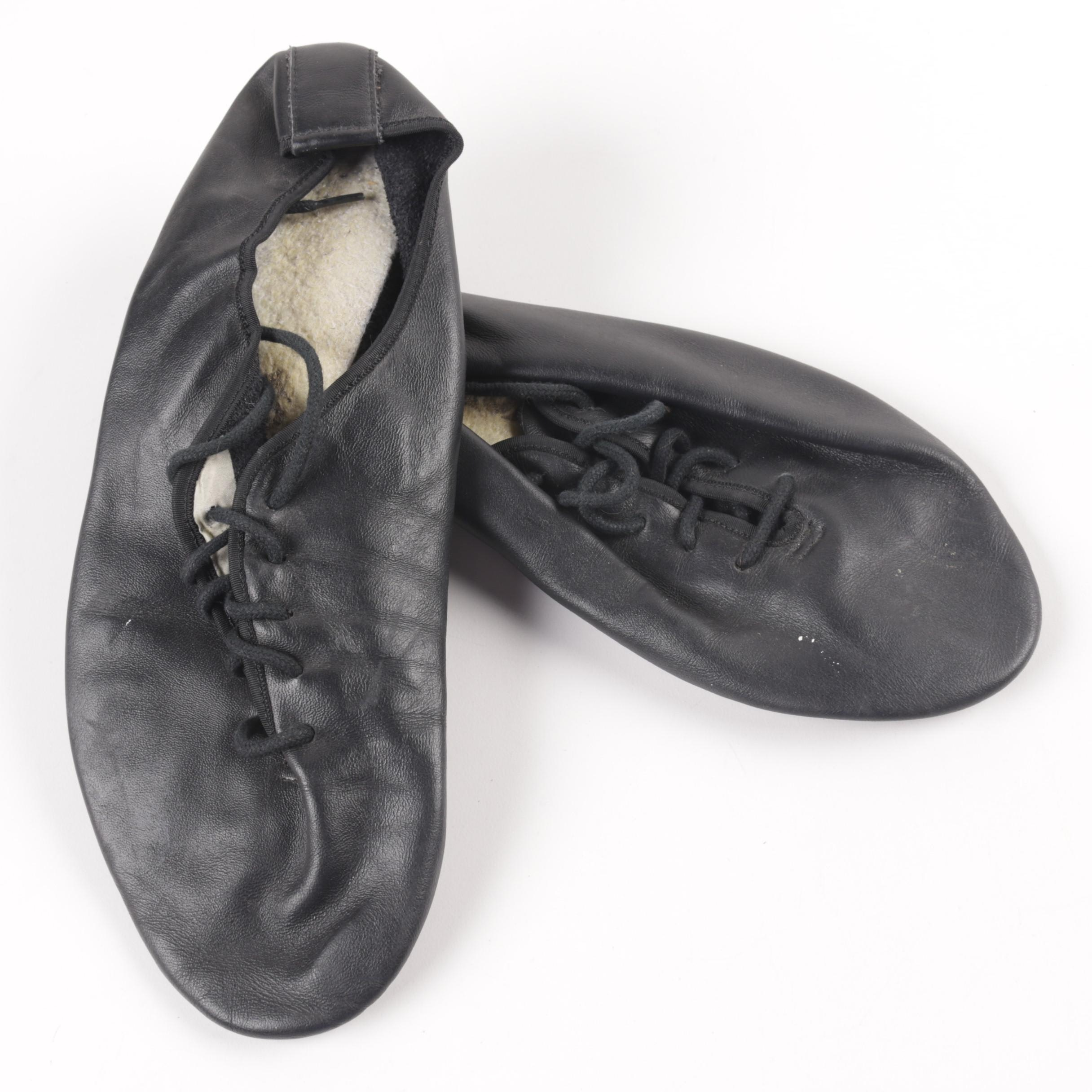 Lace Up Ballet Style Shoes