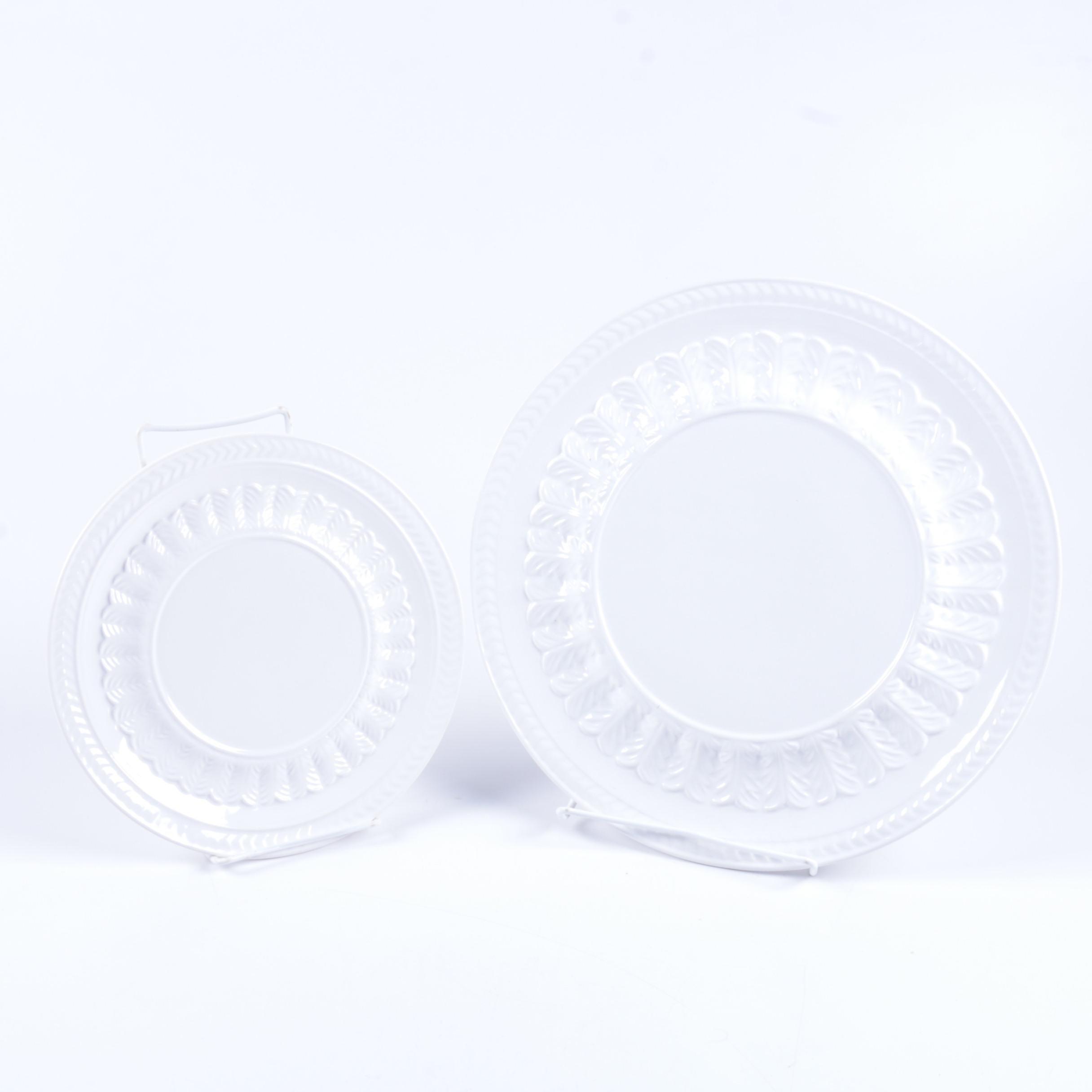 Portuguese Neuwirth Pottery Plates
