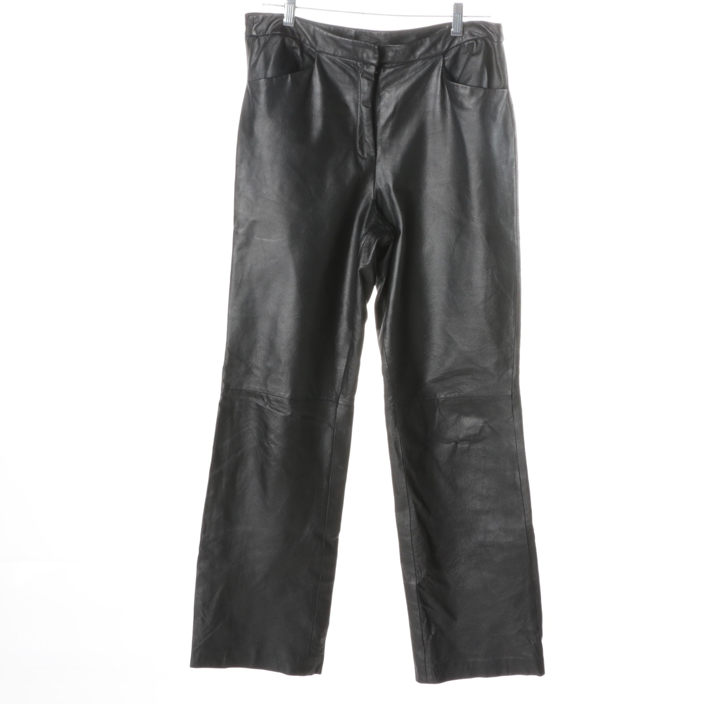 Chadwick's Leather Pants