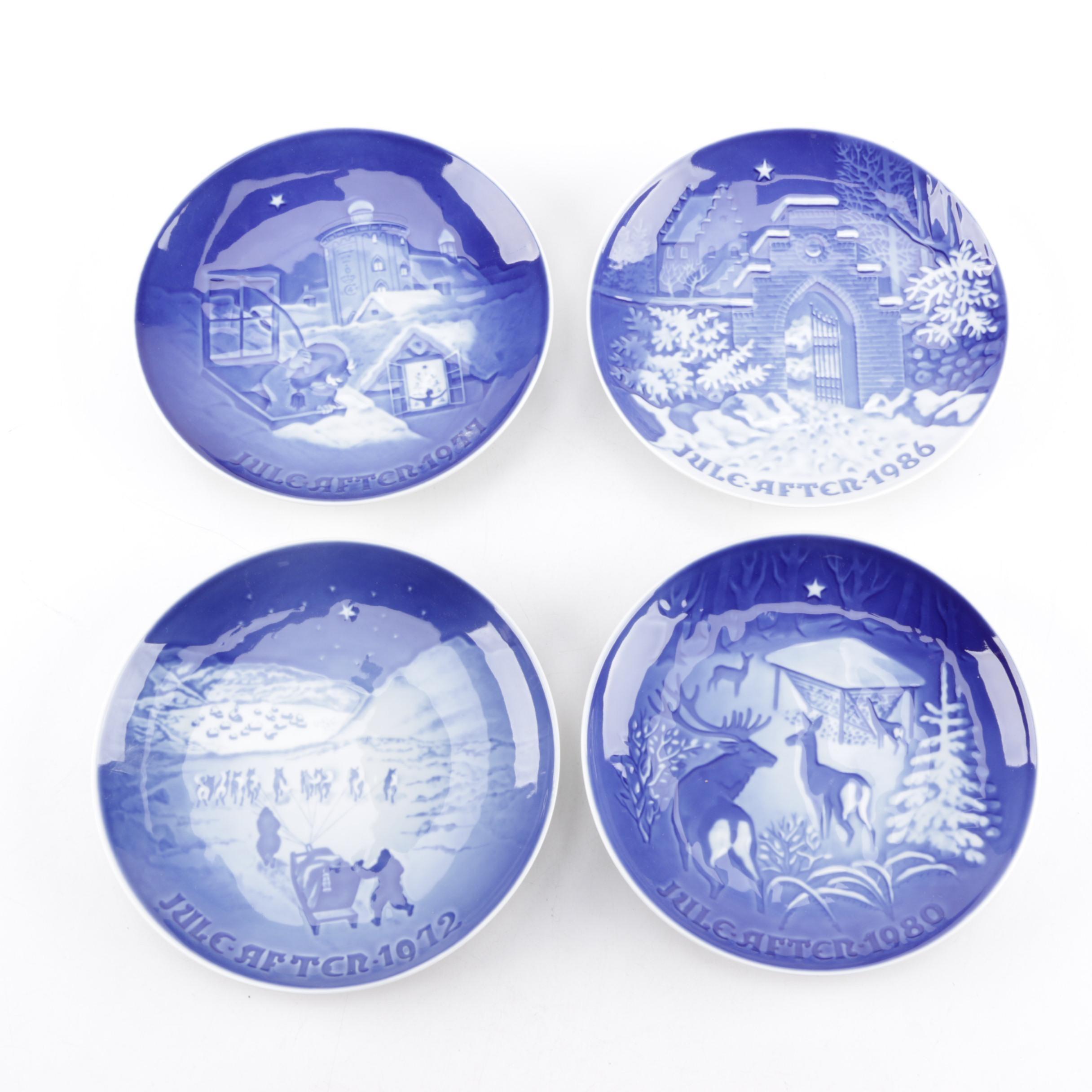 Bing & Grøndahl Porcelain Christmas Plates