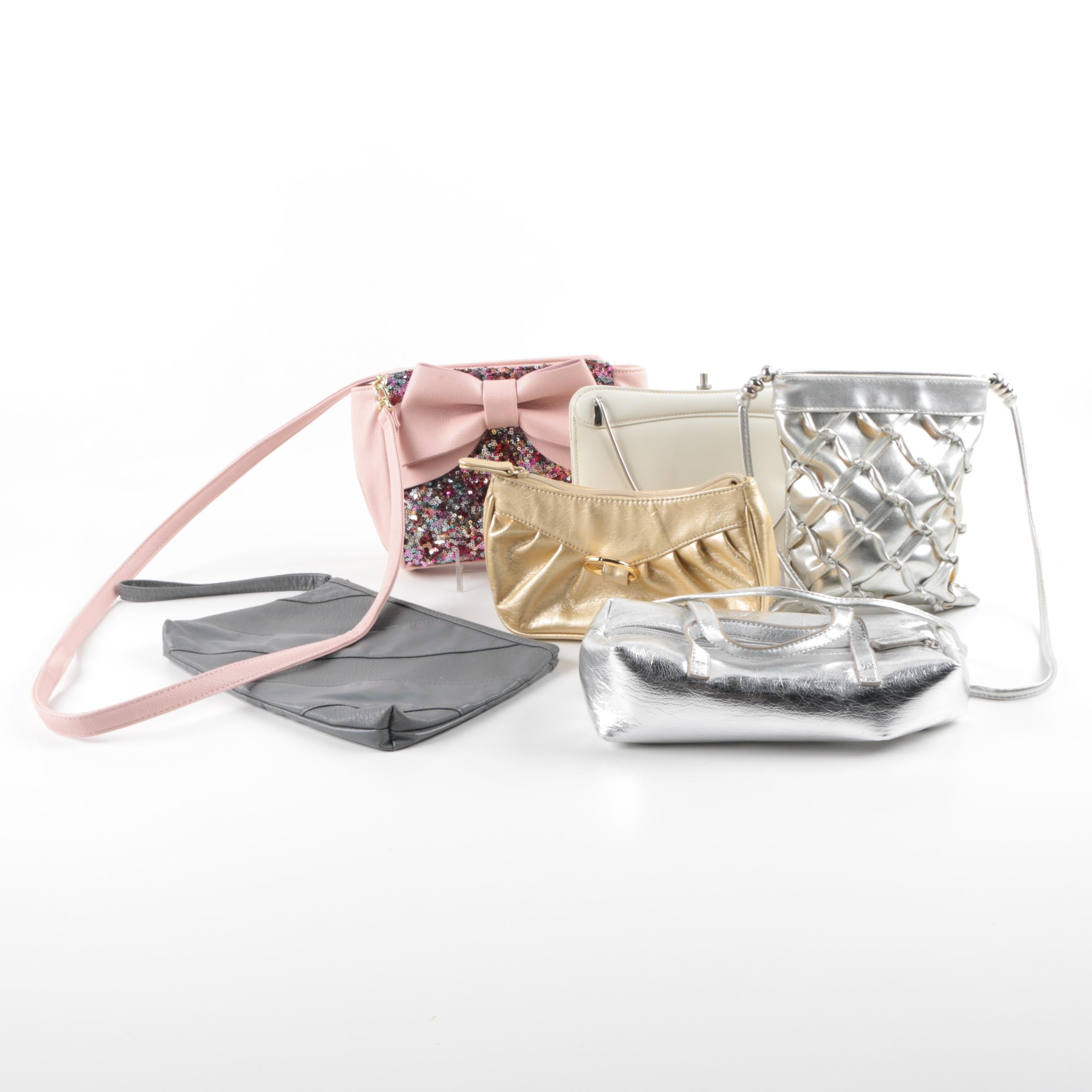 Occasion Handbags and Clutches Including Betsey Johnson