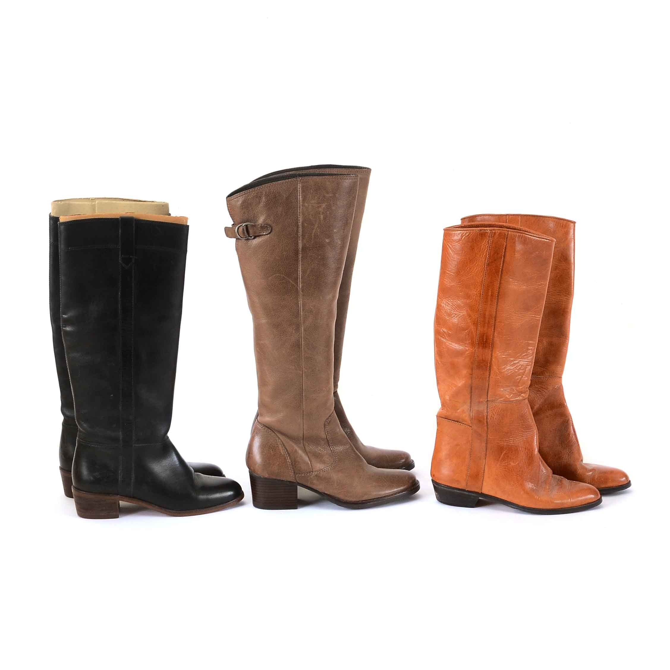 Collection of Women's Size 5.5 Leather Boots
