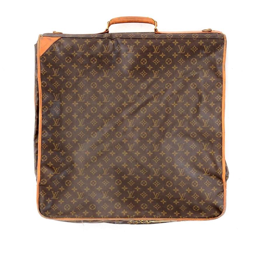 52ecba37716e Louis Vuitton Malletier Monogram Canvas Garment Bag   EBTH