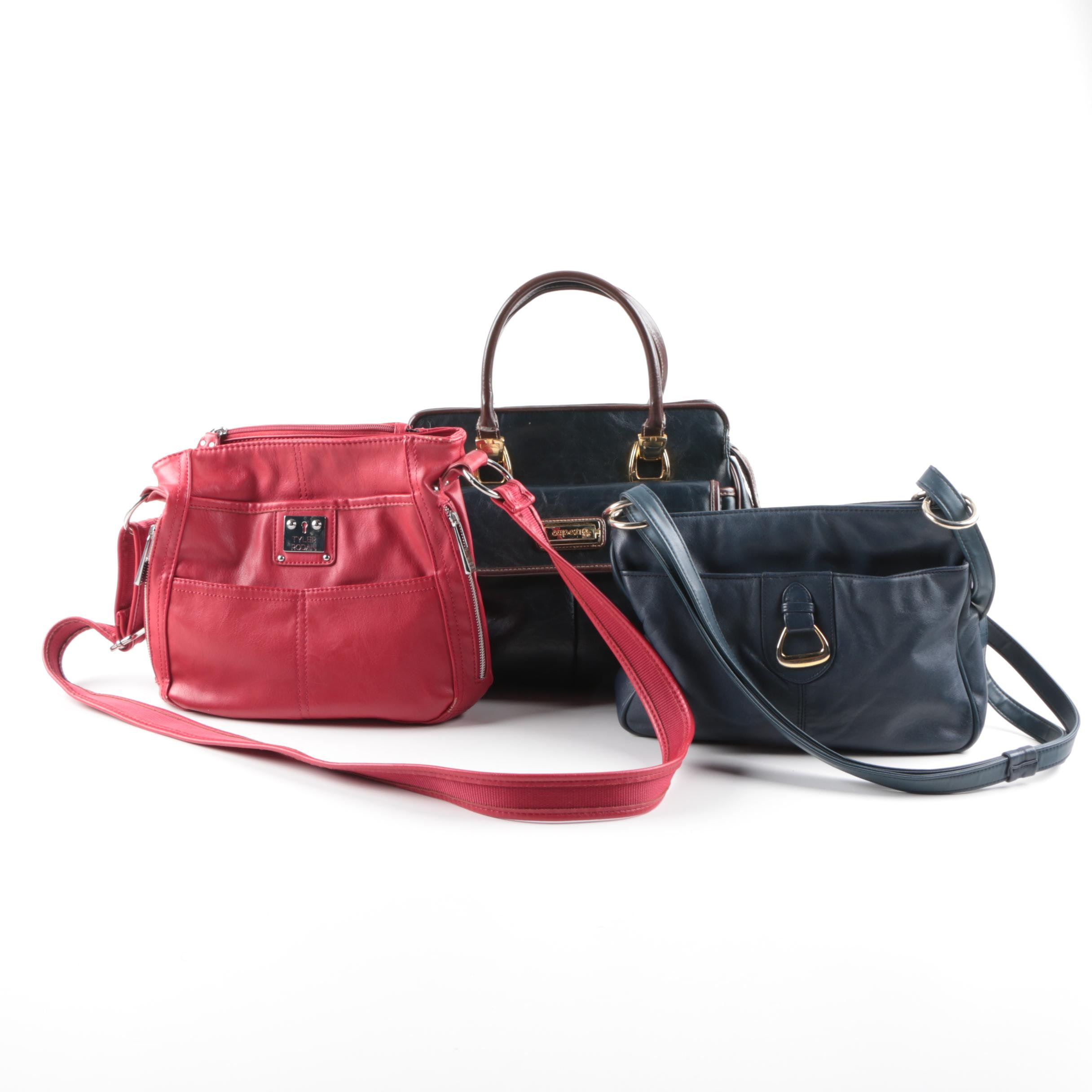 Leather Handbags Including Worthington