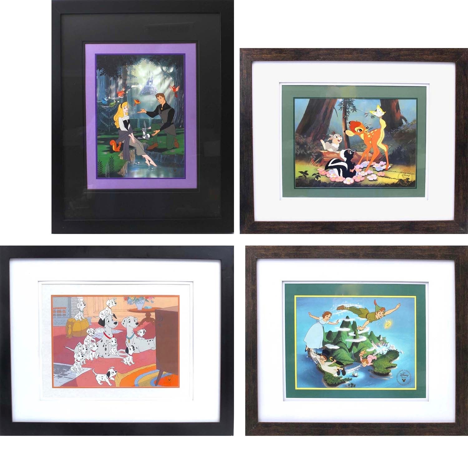 Vintage Disney Exclusive Offset Lithographs