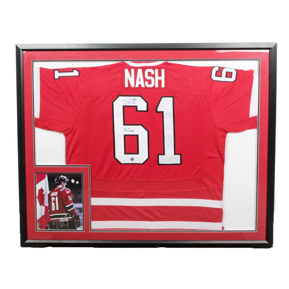 Rick Nash Autographed Reproduction 2014 Canada National Team Olympic Jersey