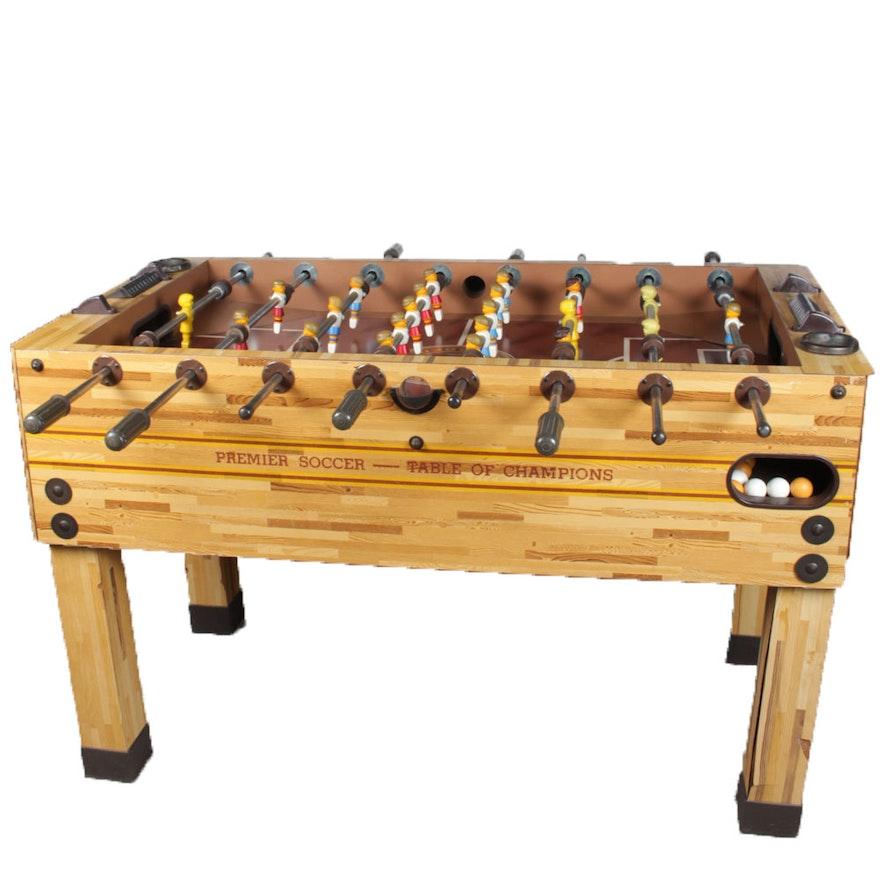 Premier Foosball Table EBTH - Premier soccer foosball table