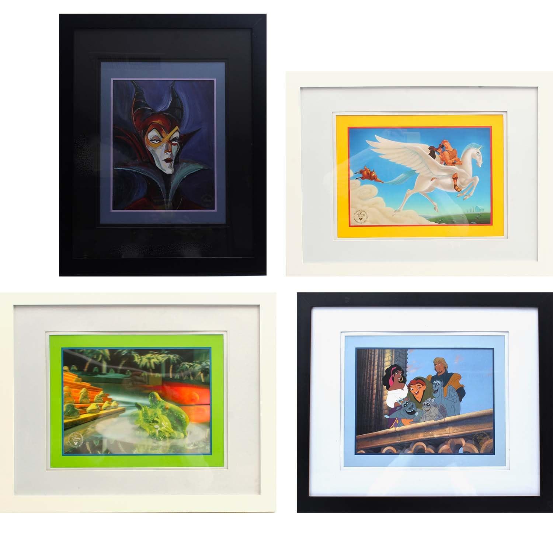Vintage Disney Exclusive Offset Lithographs