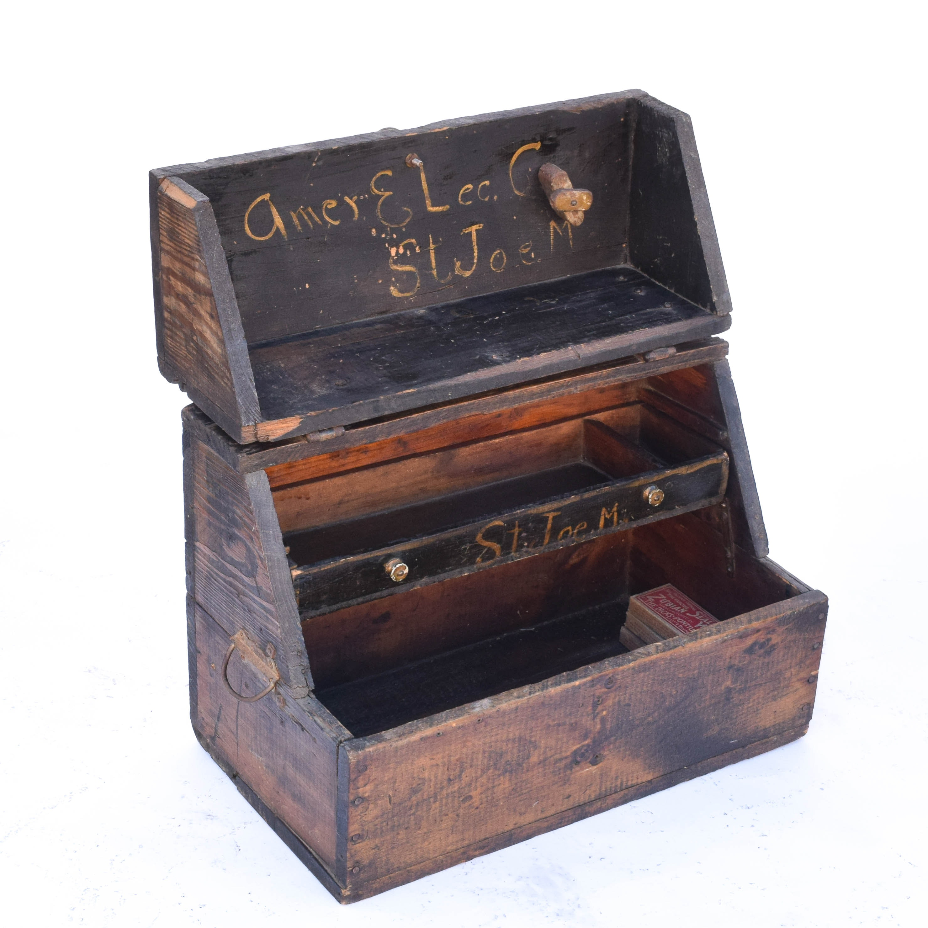 Antique Tool or Shoeshine Box