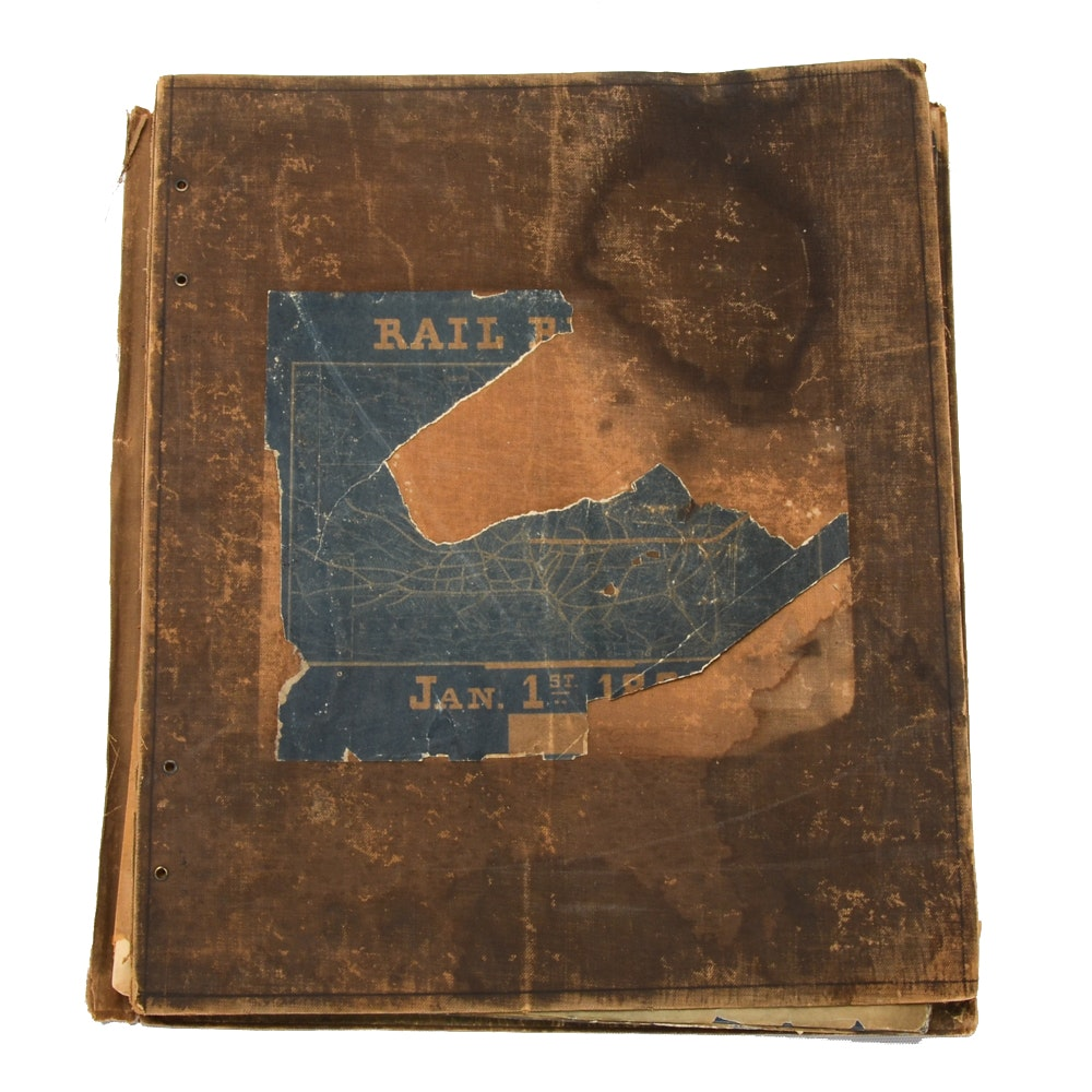1889 CB&Q Blueprints for Steel Track