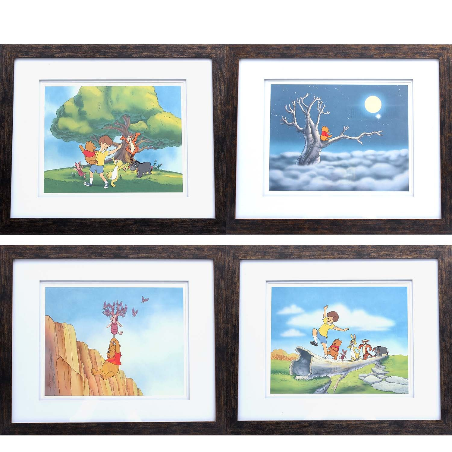 Vintage Disney's Exclusive Pooh's Grand Adventure Offset Lithographs