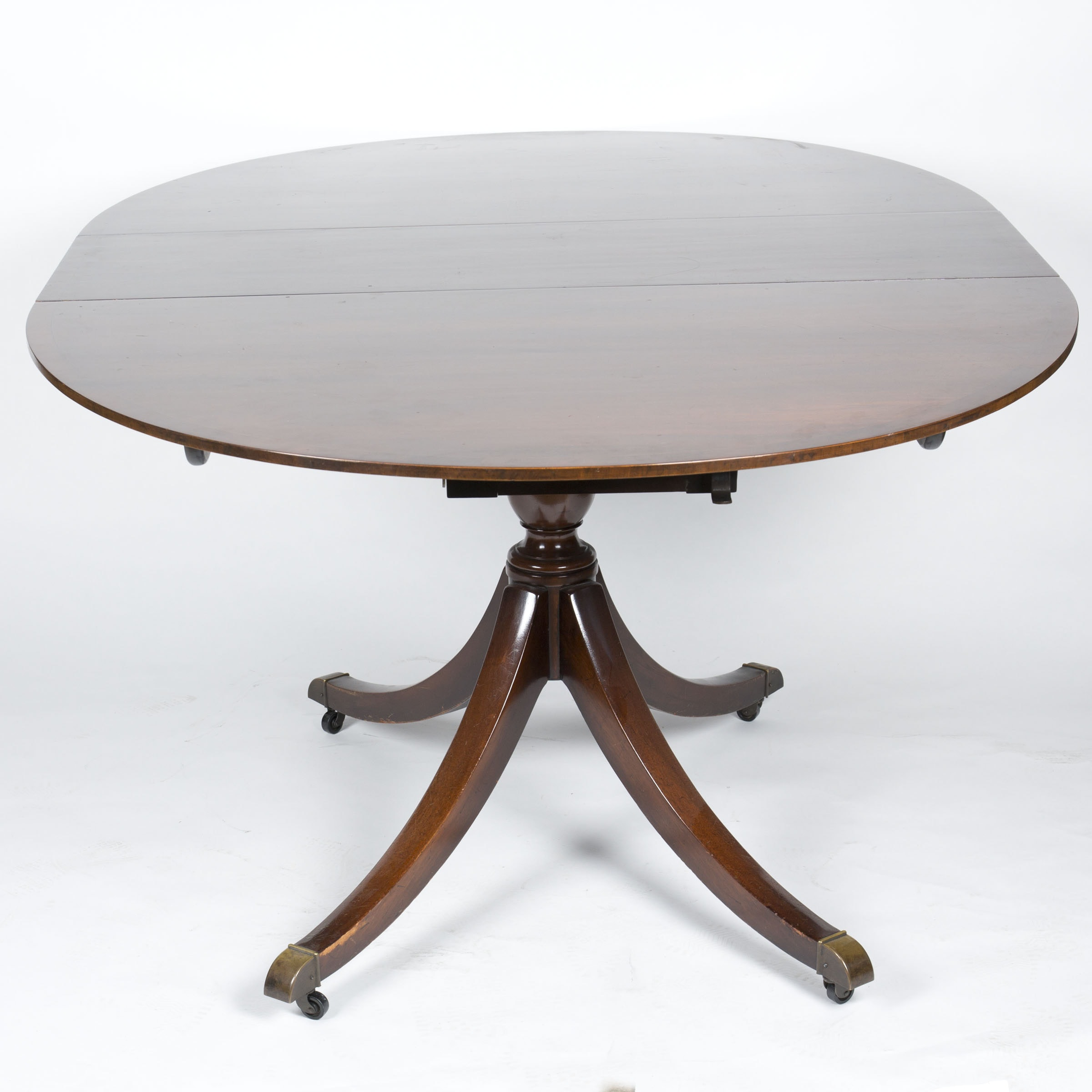 Oval Dining Table with Extension Leaves