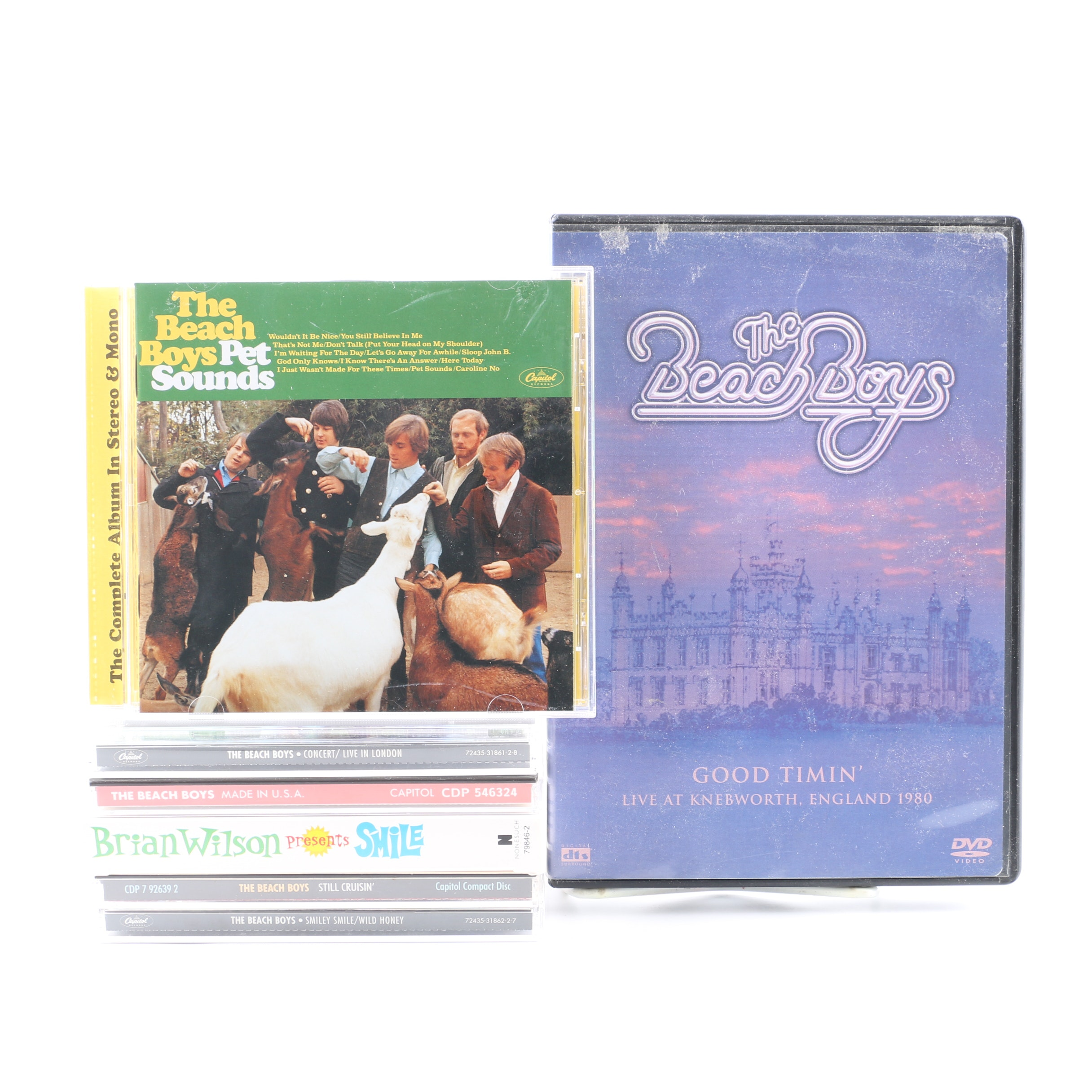 """The Beach Boys and Brian Wilson CD and DVD Collection Including """"Pet Sounds"""""""