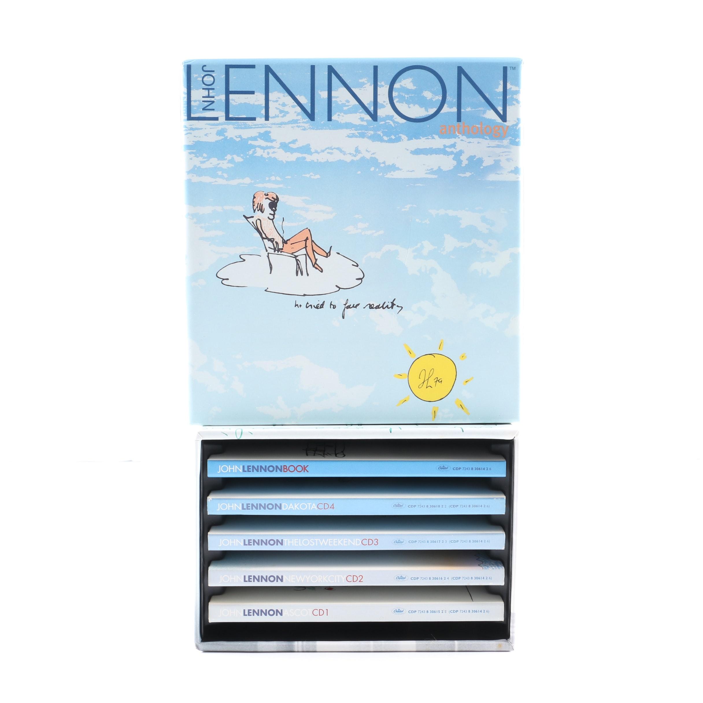 """John Lennon """"Anthology"""" Box Set"""