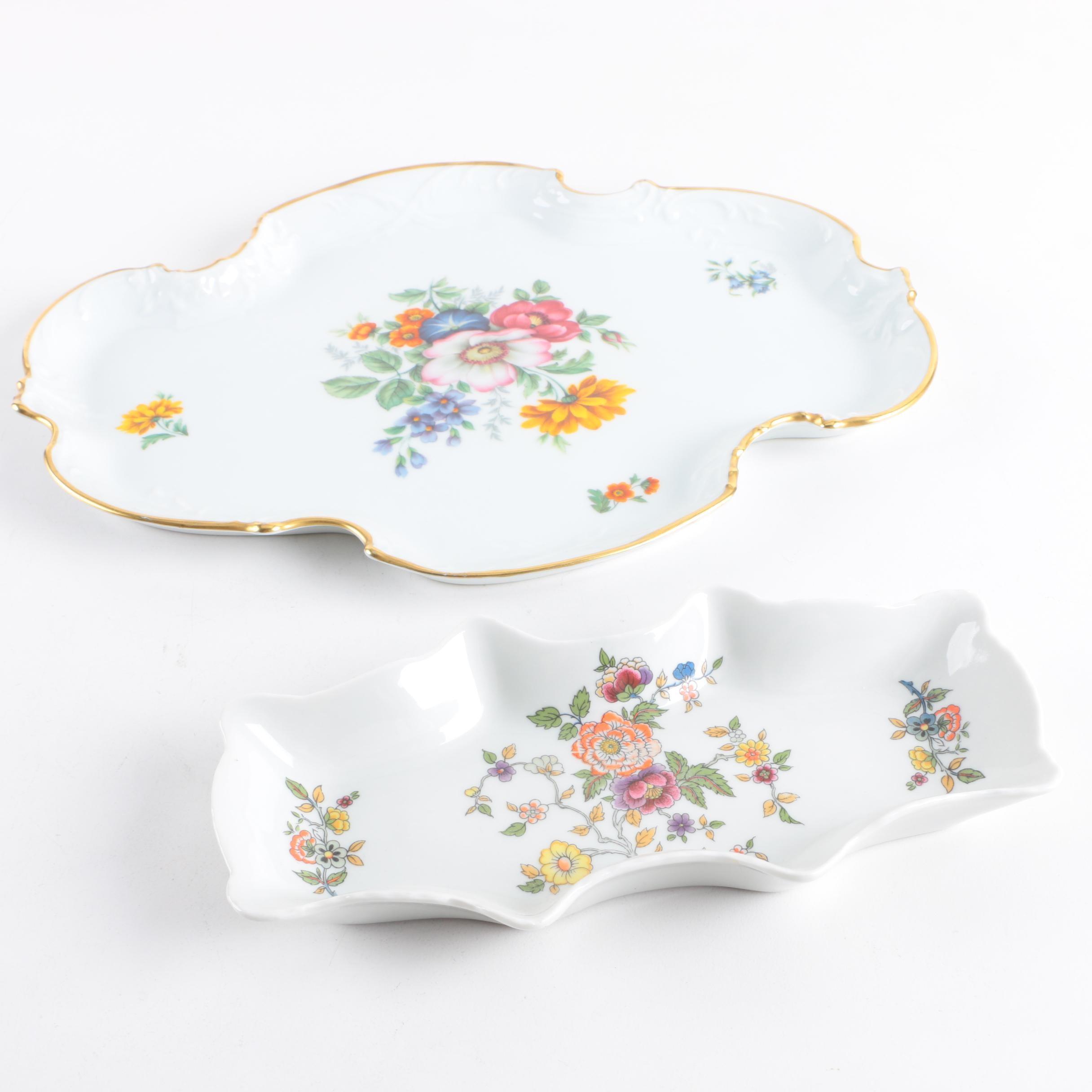 Vintage Limoges Porcelain Serveware