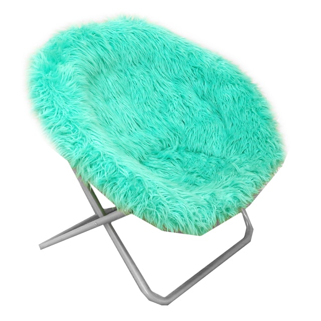 Contemporary Faux Fur Chair from Pottery Barn Teen