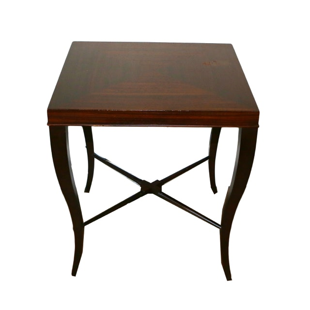 Square Mahogany Center or End Table From Ethan Allen
