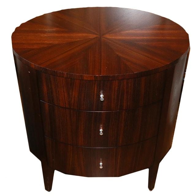 Ethan Allen Mid Century Modern Style Side Table