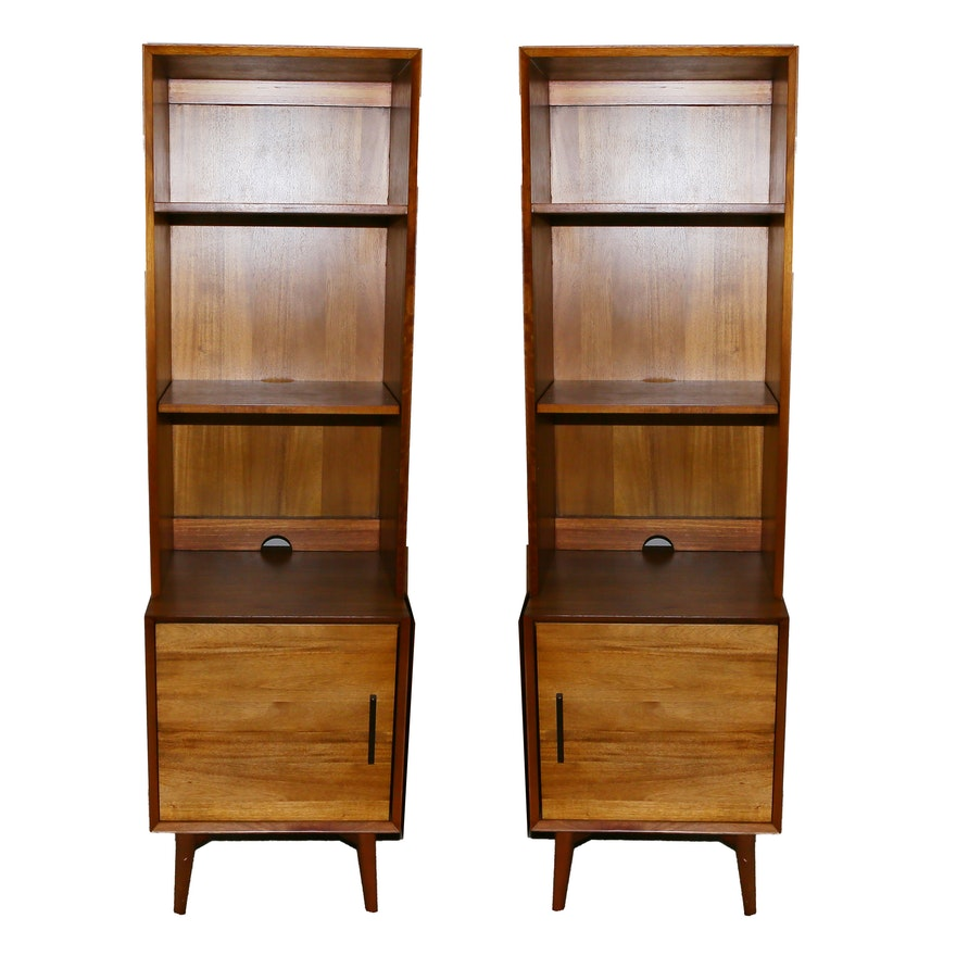 Mid Century Modern Style Bookcases From West Elm