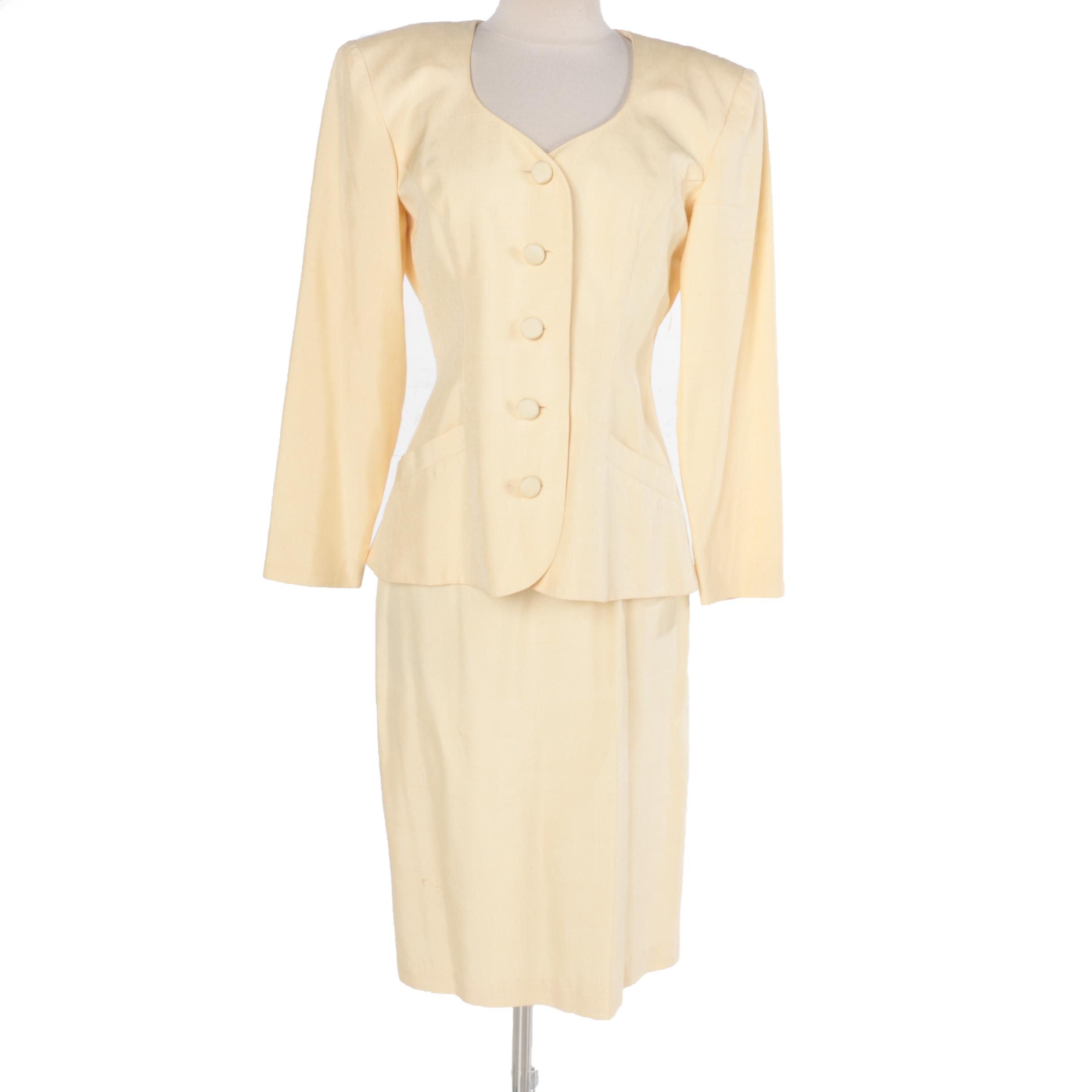 Women's Gillian Silk Dress Suit