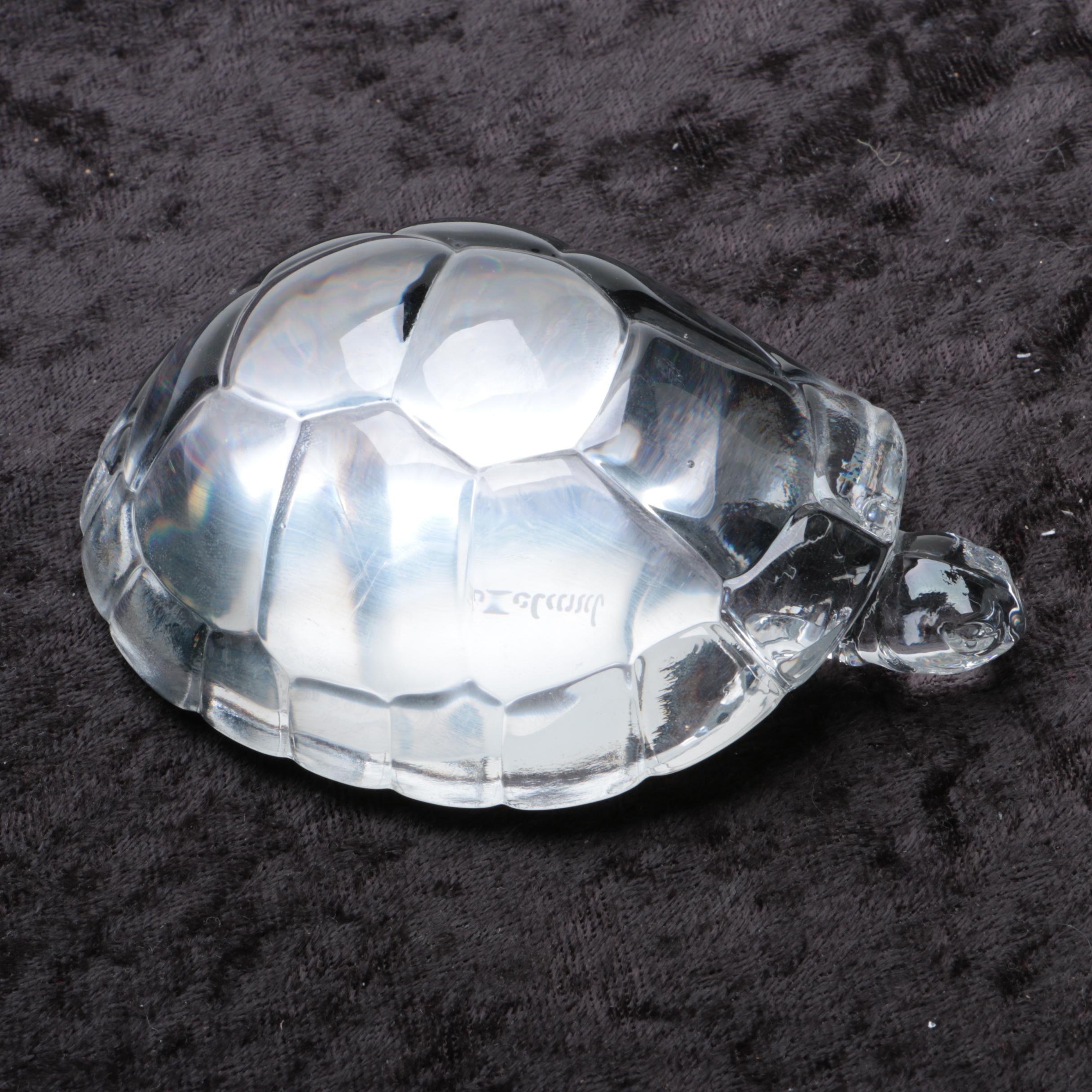 Hadeland Crystal Turtle