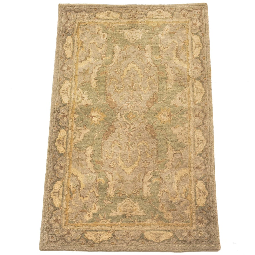Pottery Barn Wool Thyme Persian Accent Rug