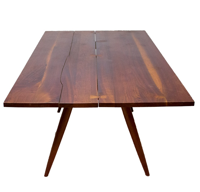 George Nakashima Walnut Dining Table