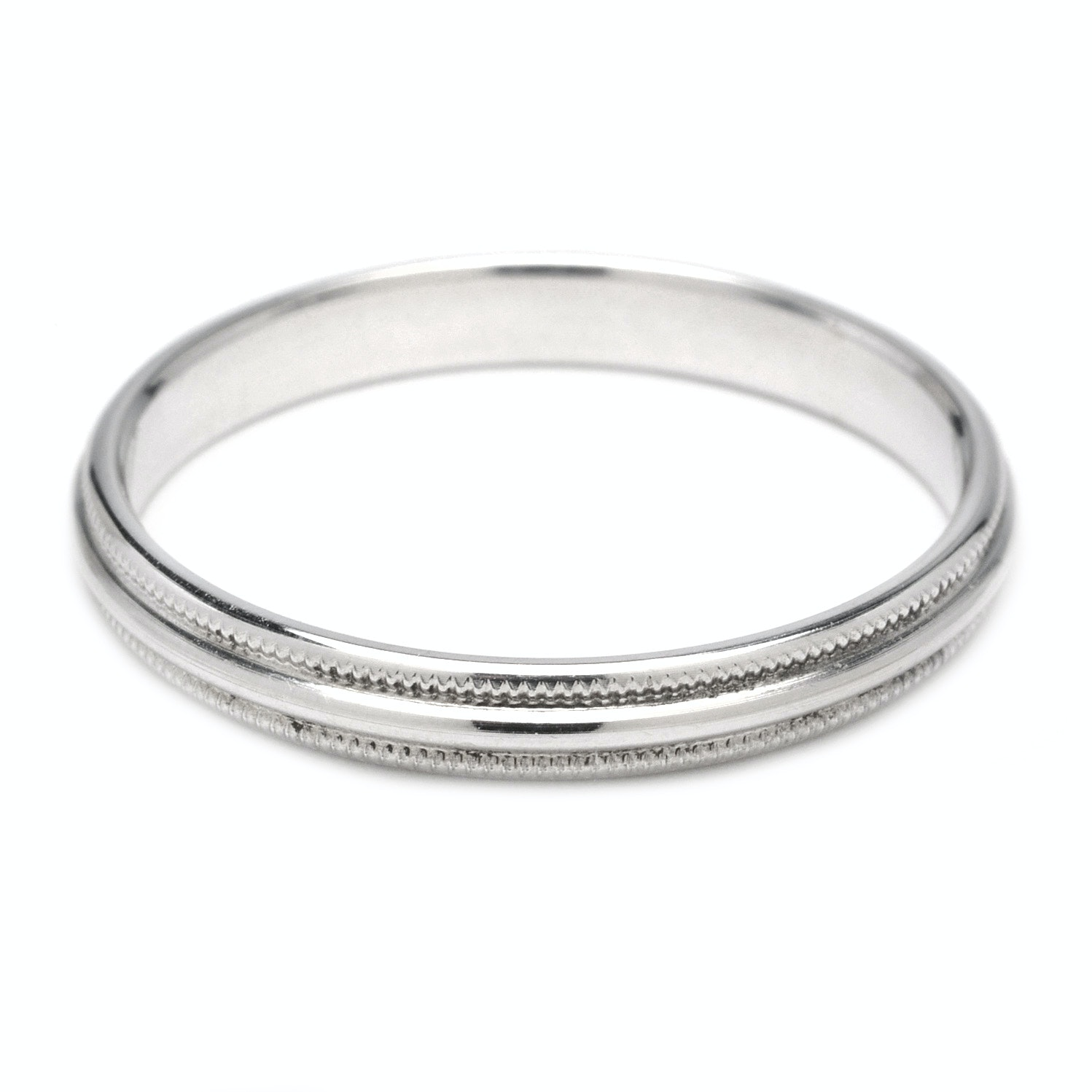 14K White Gold Ring Band from Quality Gold Inc EBTH