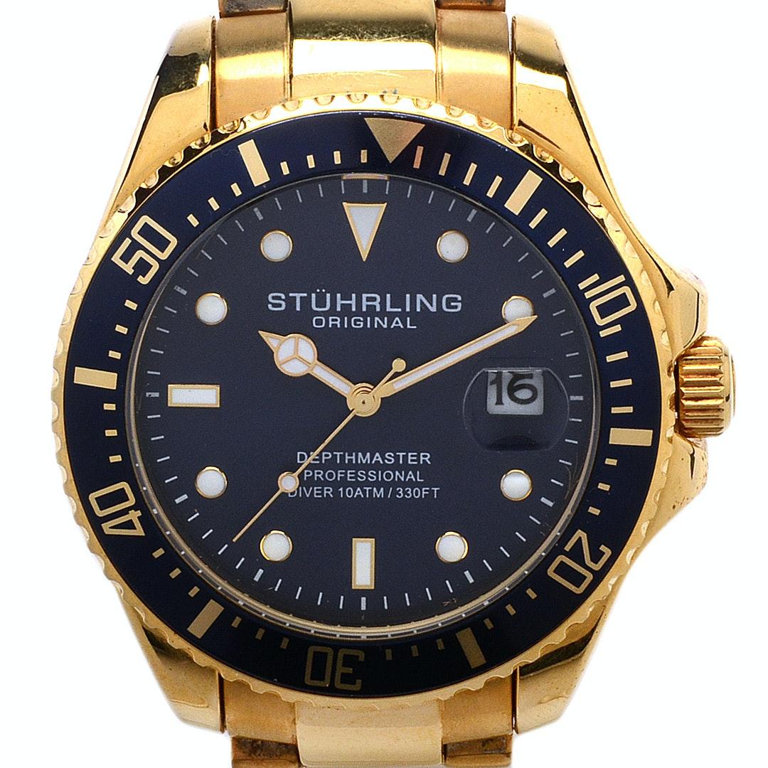 "Stührling Original ""Depthmaster"" Pro Diver Wristwatch"