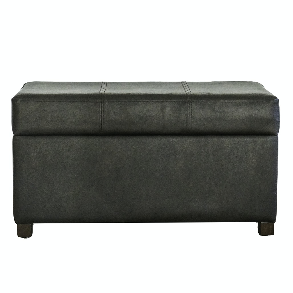 Contemporary Storage Ottoman ...