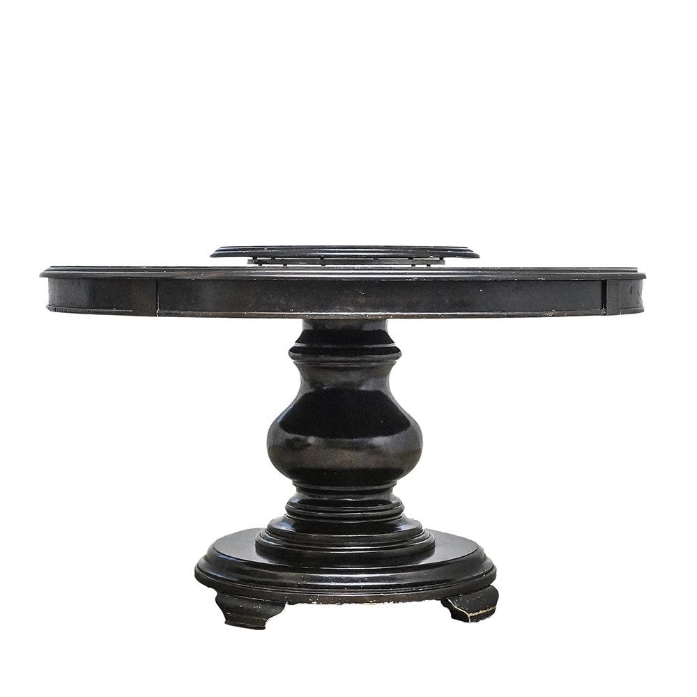 Farmhouse Style Pedestal Dining Table