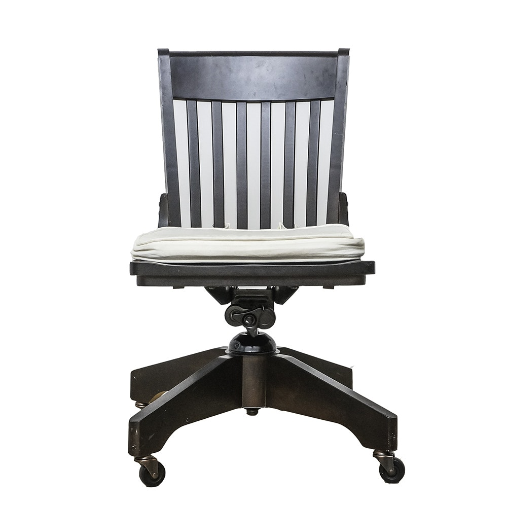 Contemporary Desk Chair on Casters