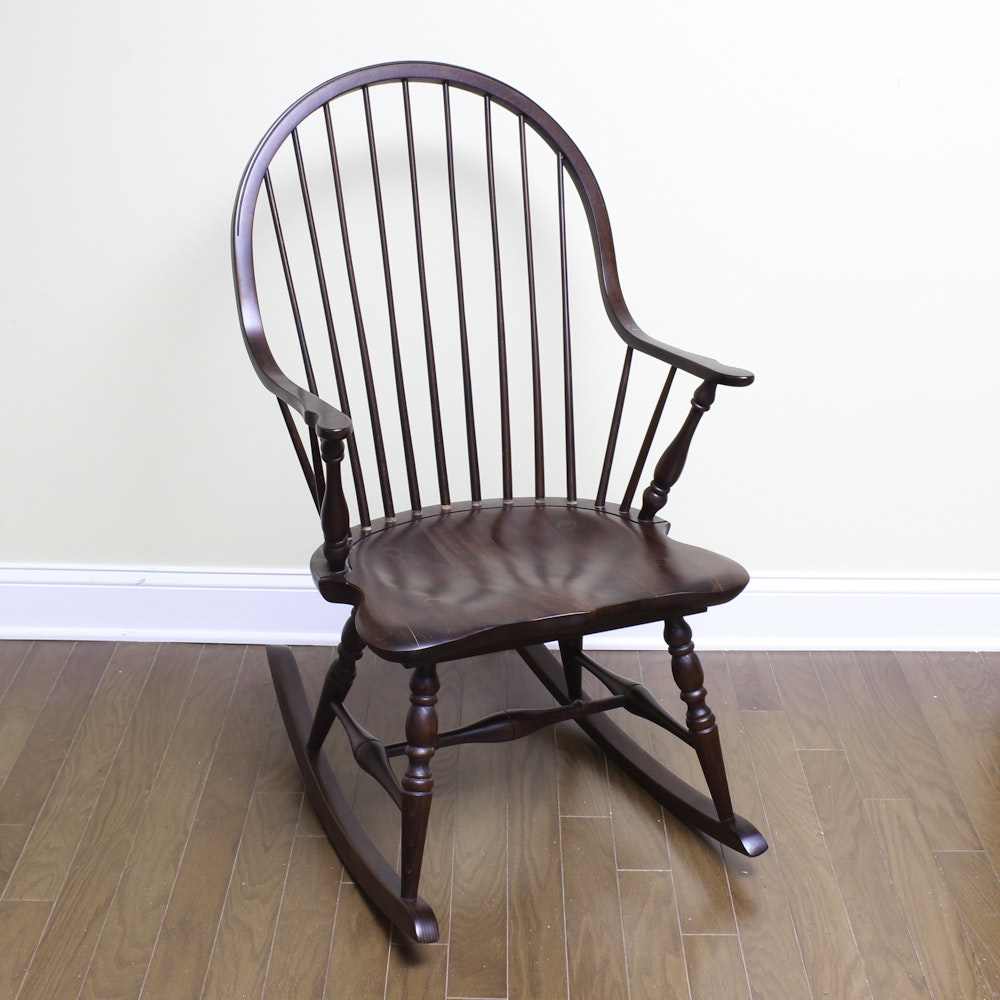 Windsor Style Rocking Chair ...