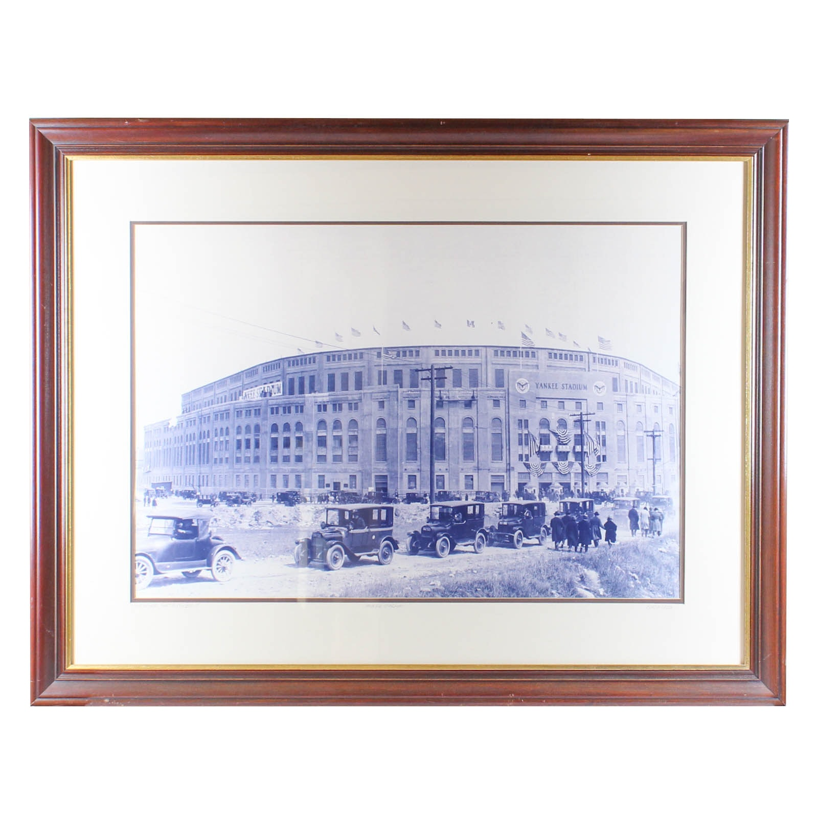 Photographic Print of Yankee Stadium