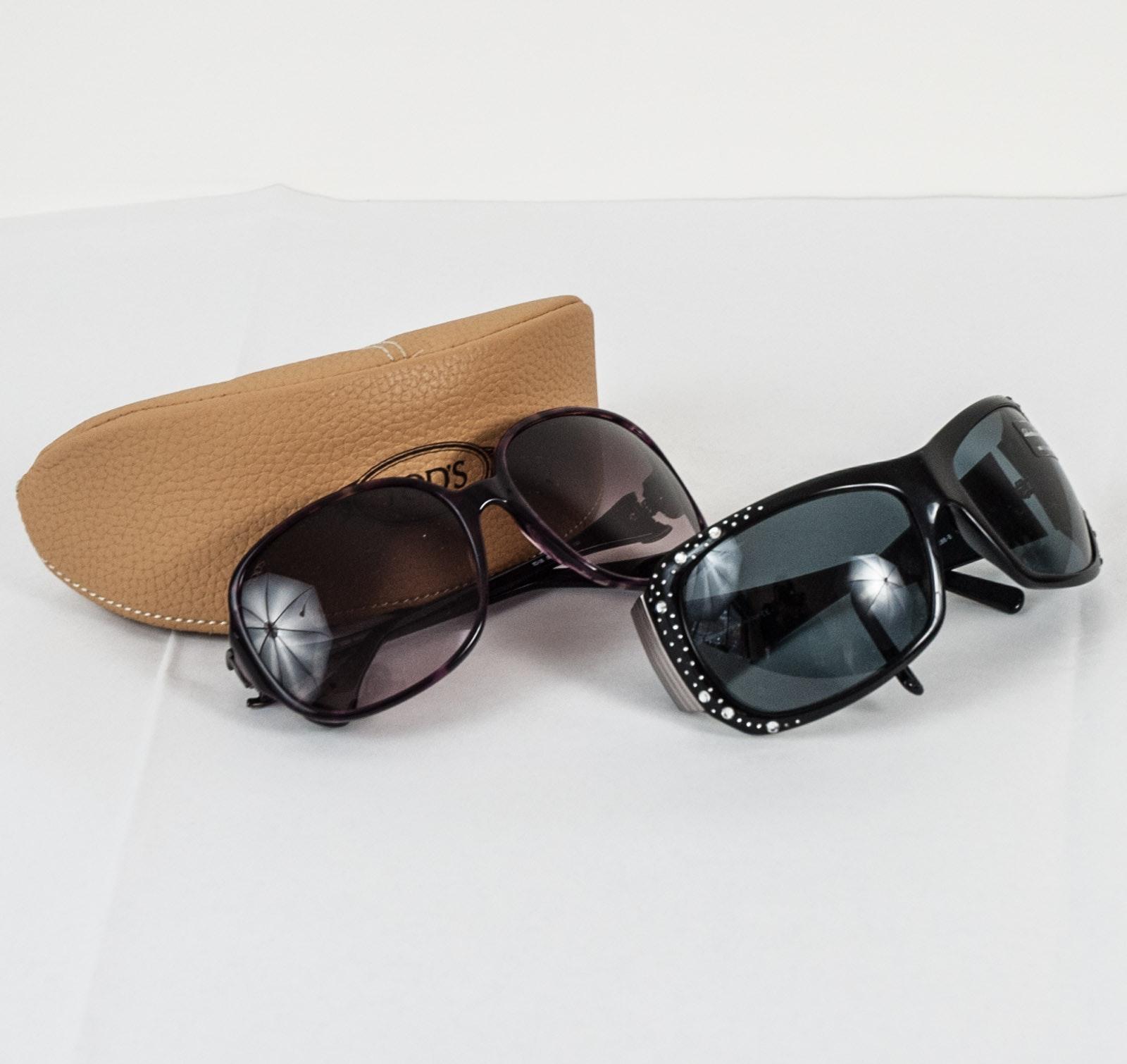 Women's Salvatore Ferragamo and Tod's Sunglasses