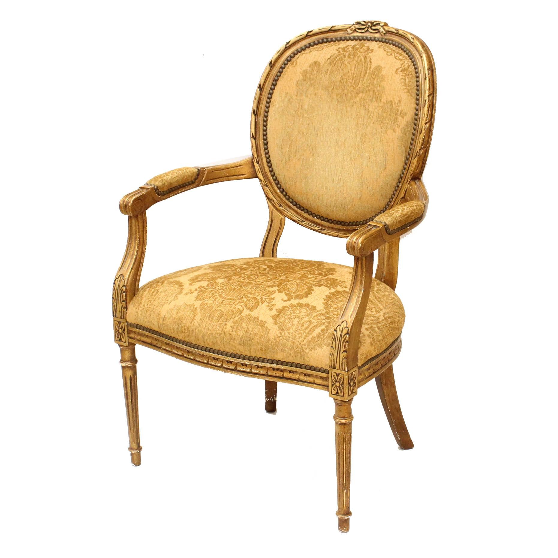 Henredon Louis XIV Style Armchair
