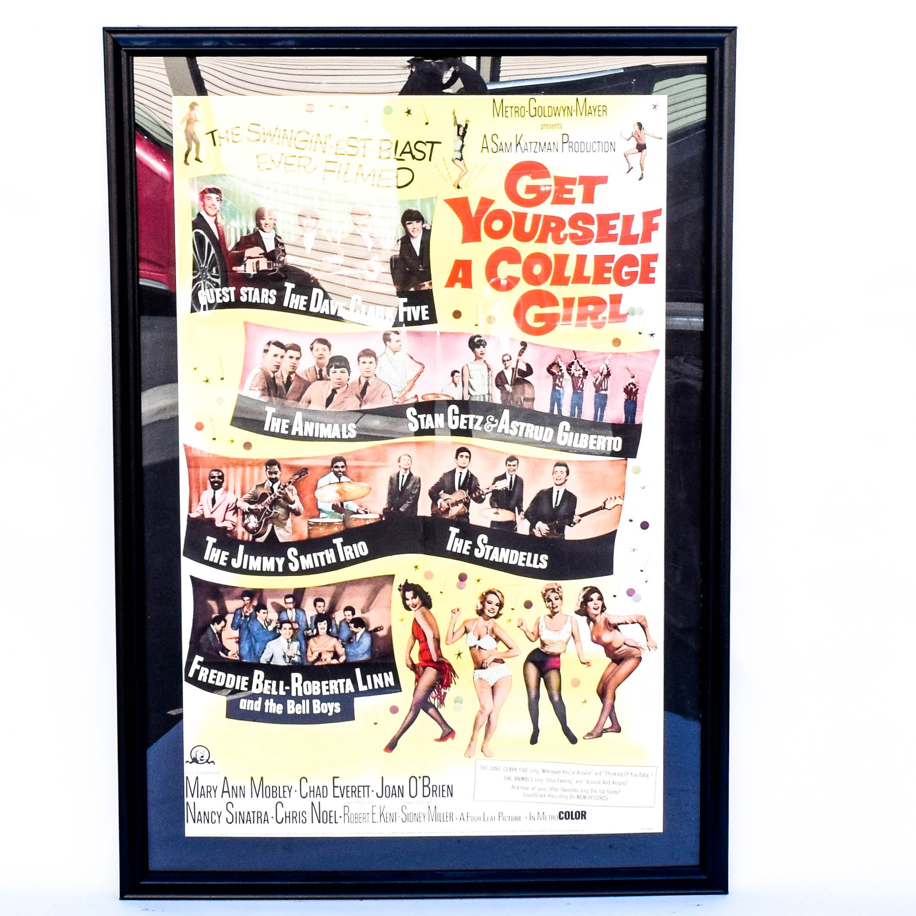 "Vintage Movie Poster ""Get Yourself a College Girl"""