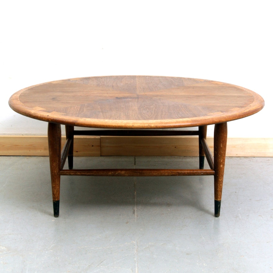 38e7ba6697706 Vintage Mid Century Modern Lane Acclaim Walnut Coffee Table   EBTH
