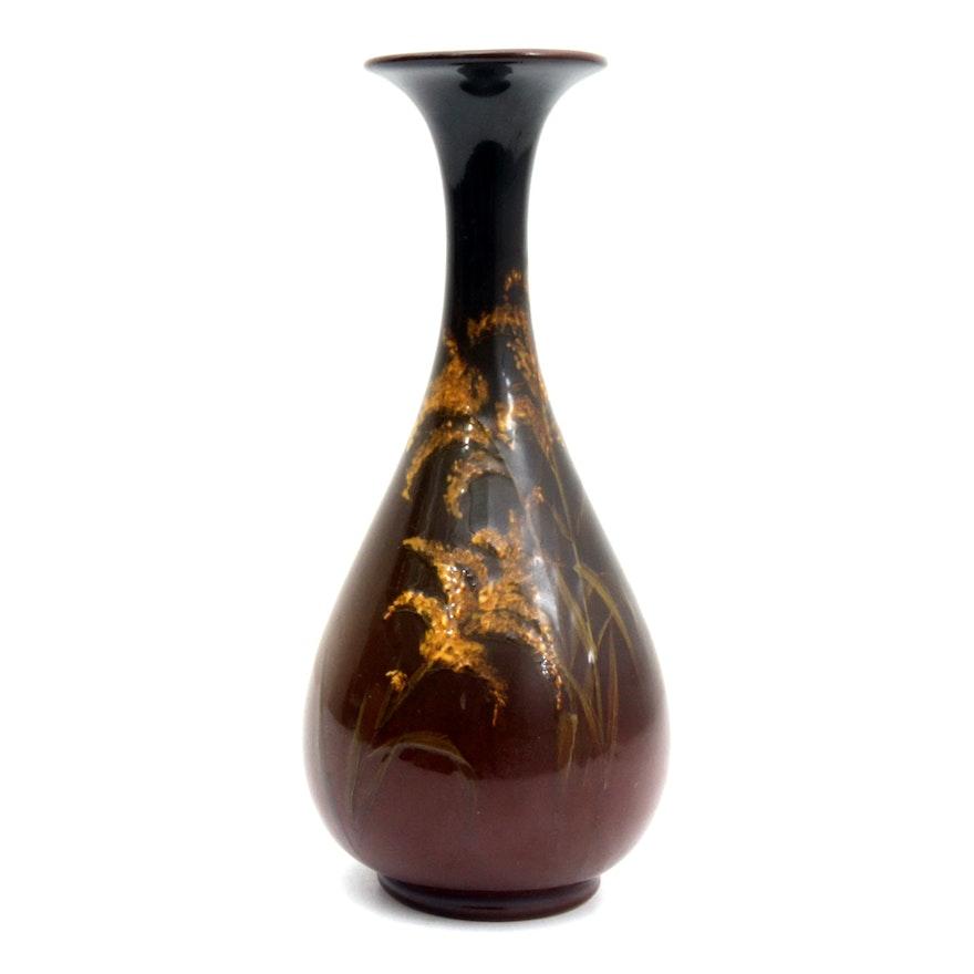 1898 Rookwood Vase Decorated By Josephine Zettel Ebth