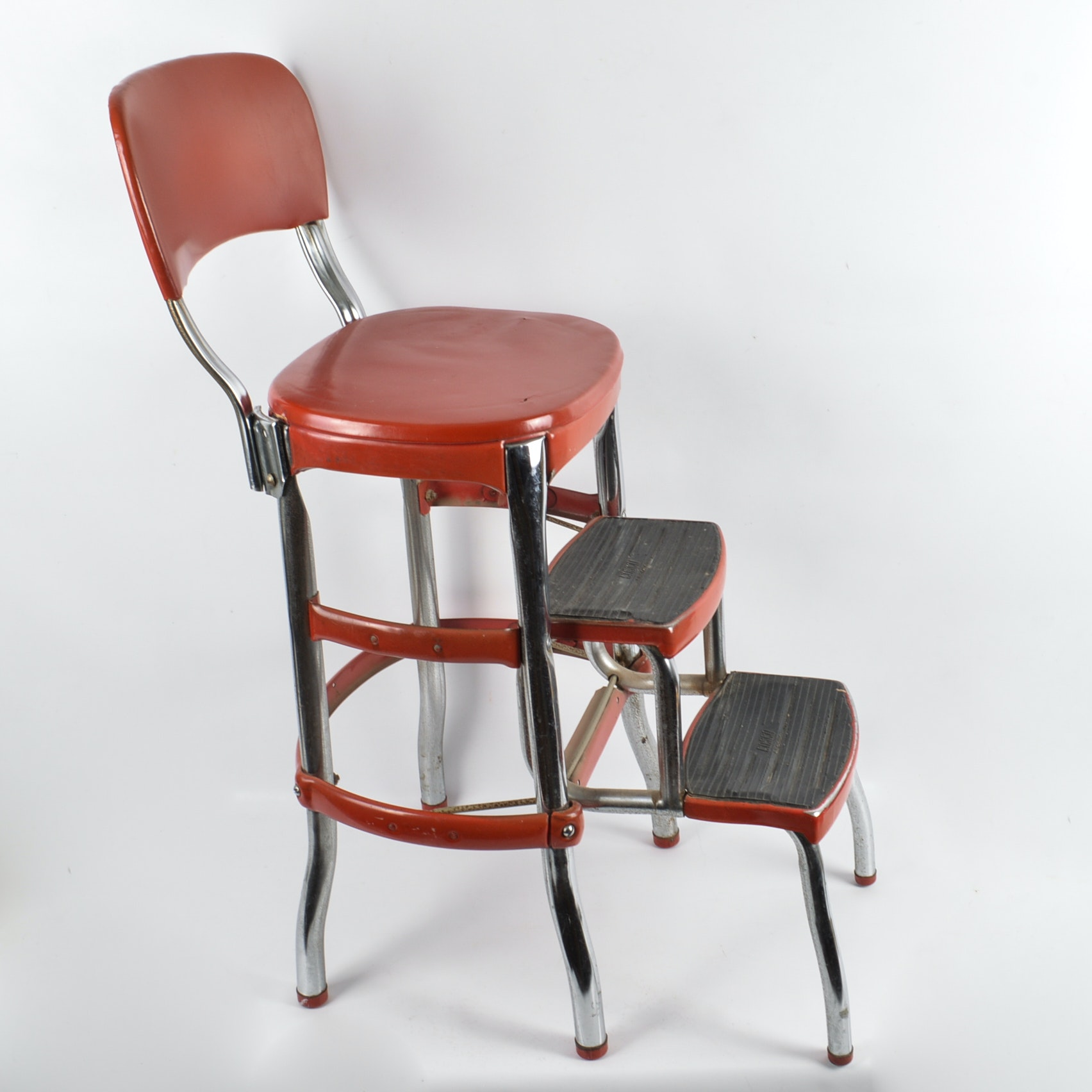 Mid-Century Cosco Step Stool Chair