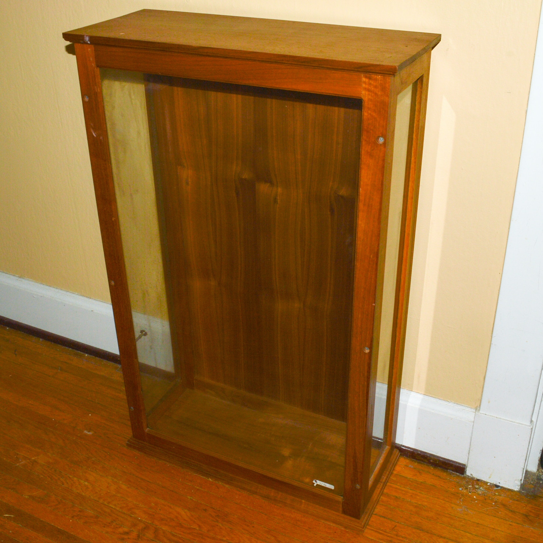 Vintage Walnut Display Case
